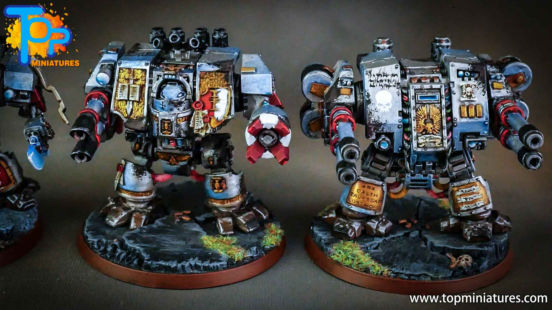 grey knights painted dreadnoughts (3)
