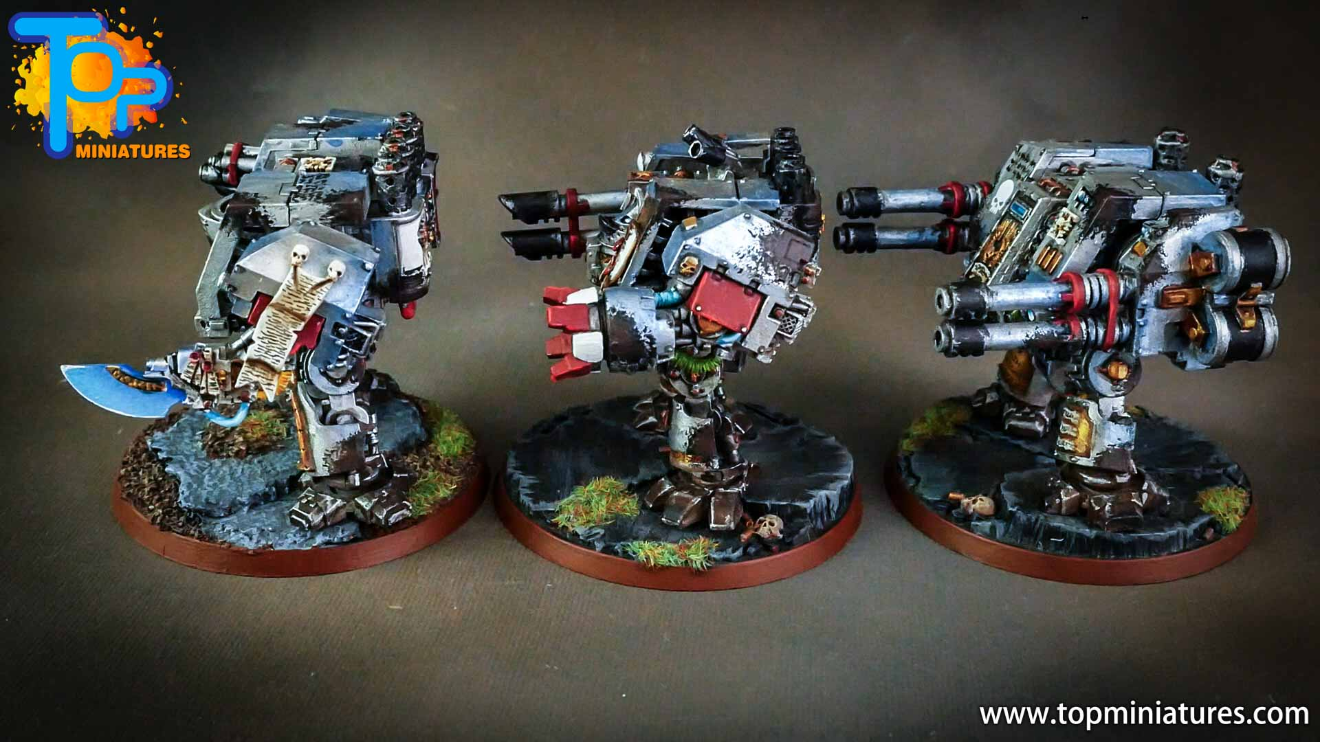 grey knights painted dreadnoughts (5)