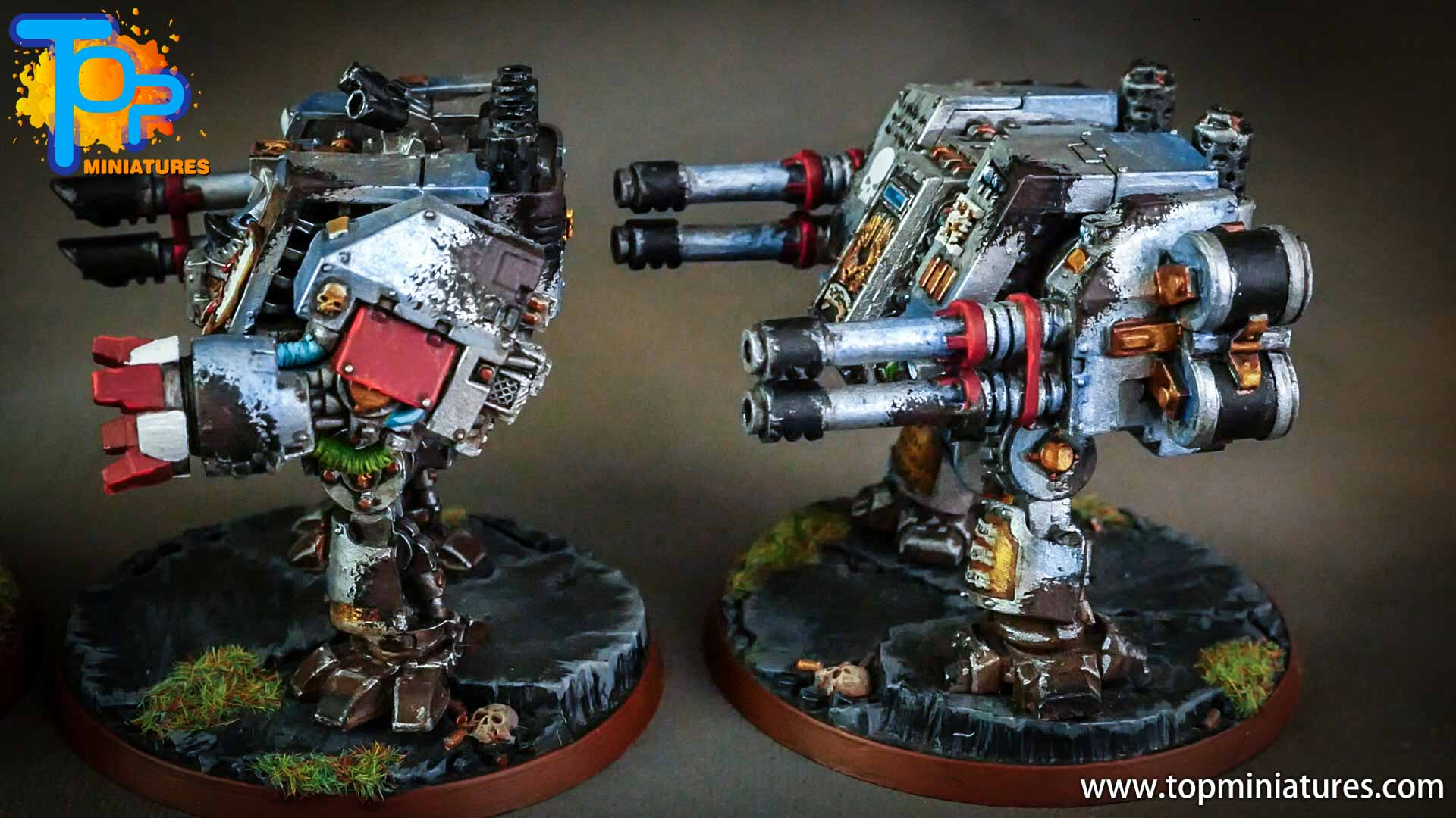 grey knights painted dreadnoughts (7)