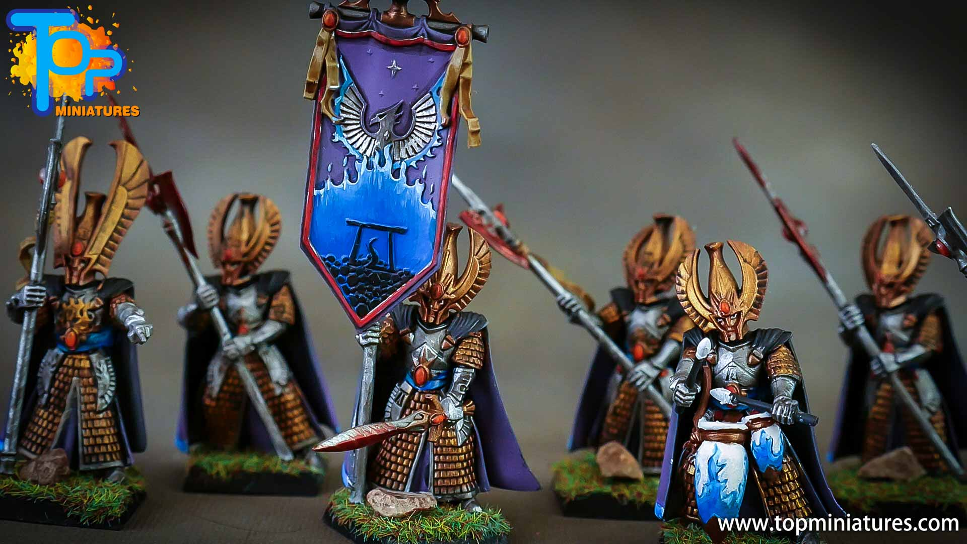 high elves painted phoenix guard (3)