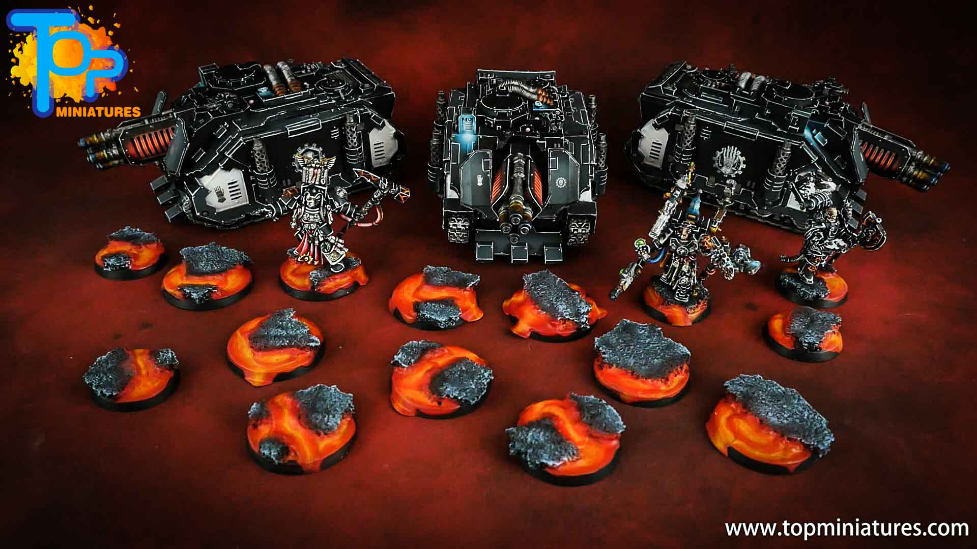 iron hands space marines army