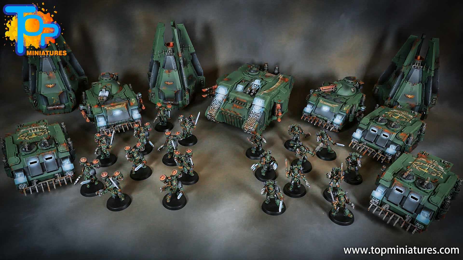 miniwargaming sons of horus painted army
