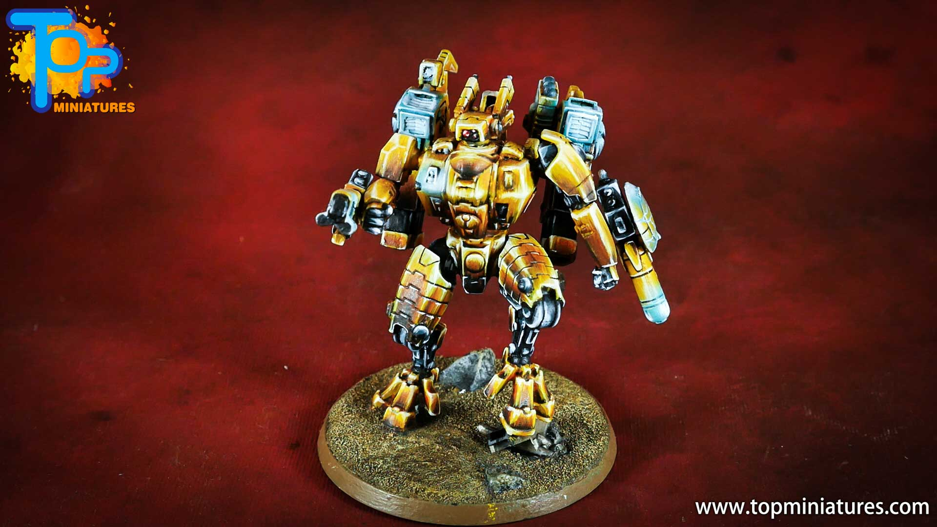 nmm gold Tau empire commander (2)
