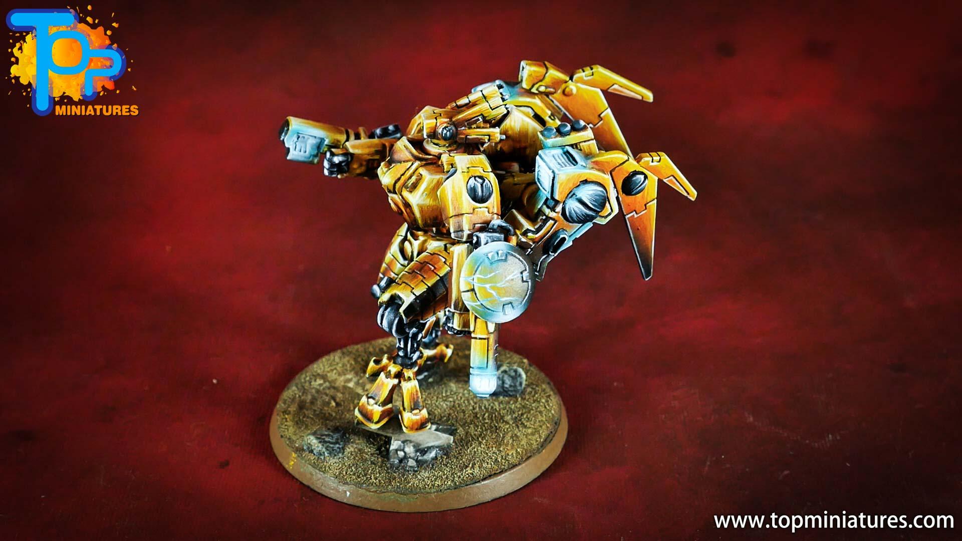 nmm gold Tau empire commander (3)