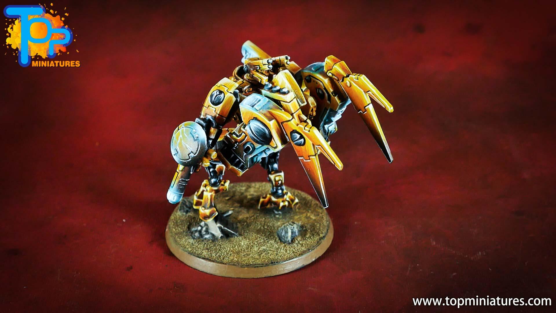 nmm gold Tau empire commander (4)