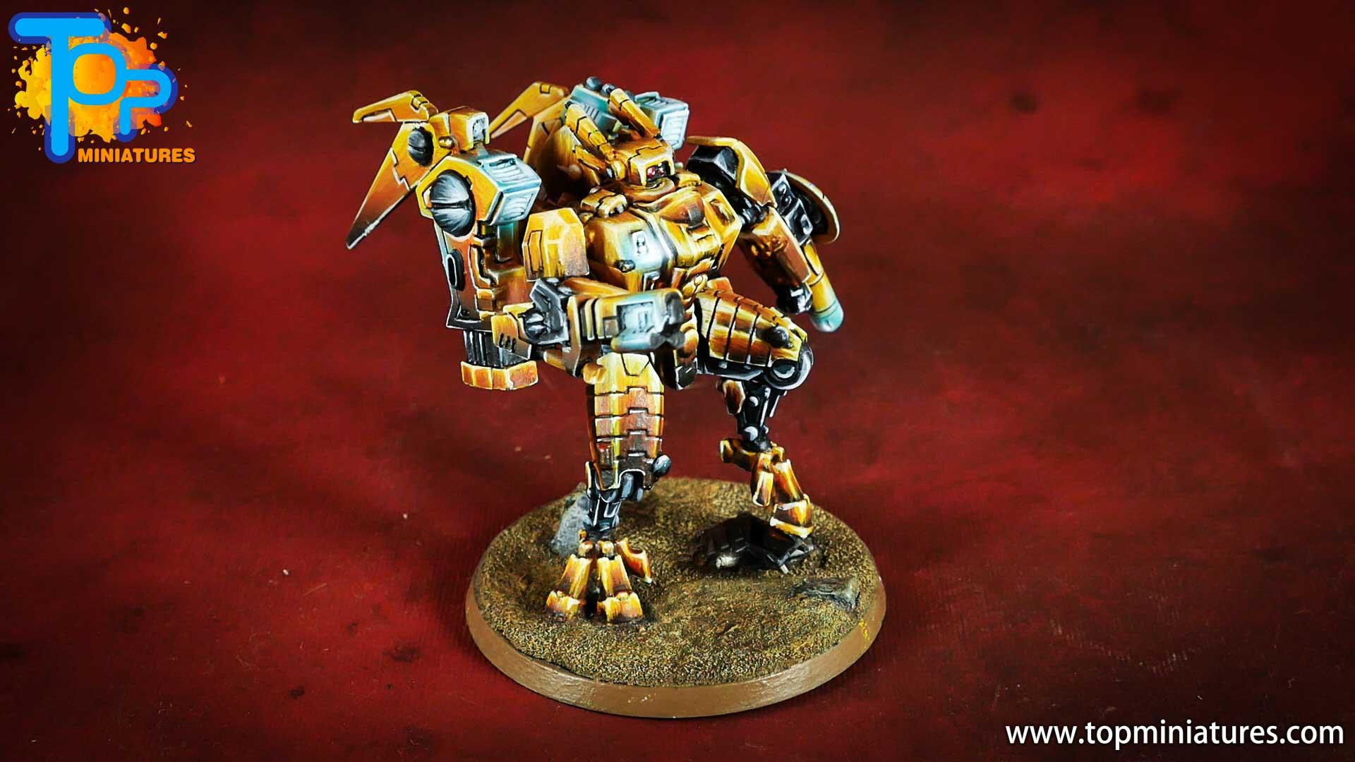 nmm gold Tau empire commander (5)