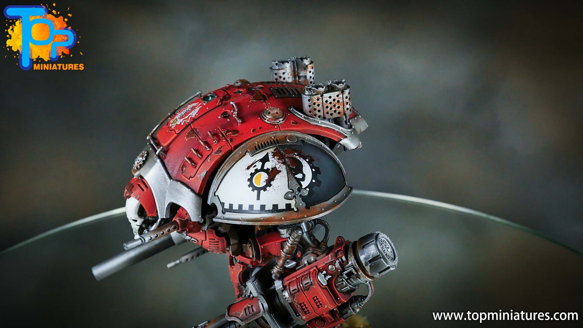 painted imperial knight weathering chipped paint (10)