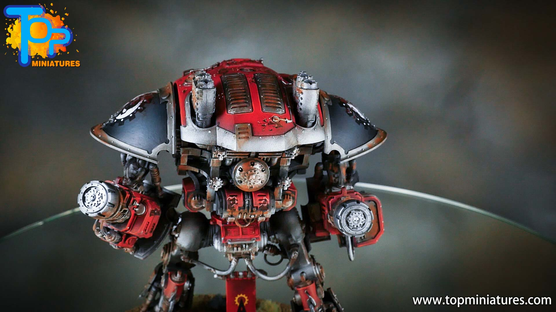 painted imperial knight weathering chipped paint (11)