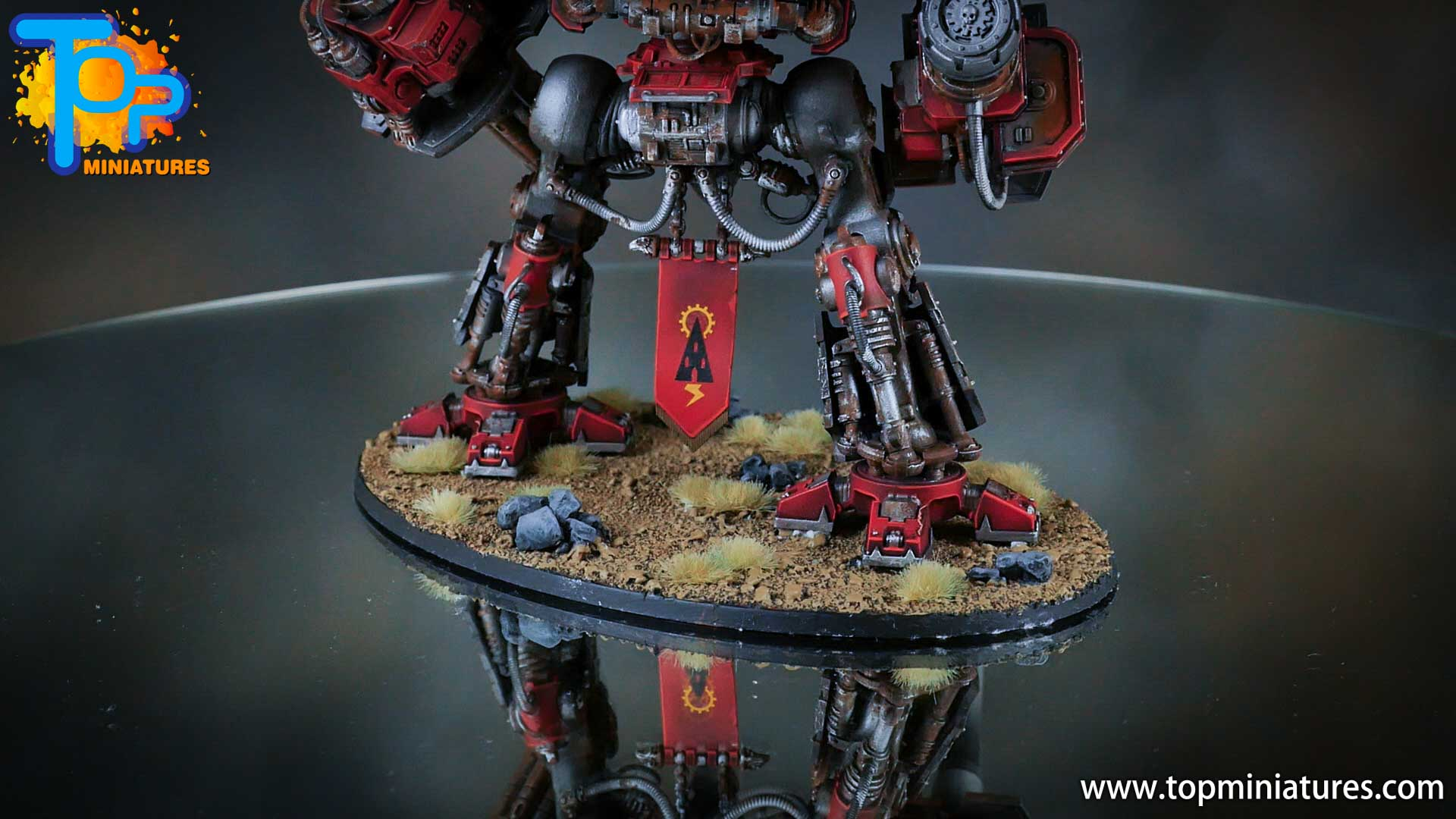 painted imperial knight weathering chipped paint (14)