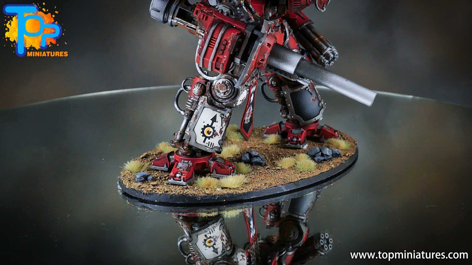 painted imperial knight weathering chipped paint (15)