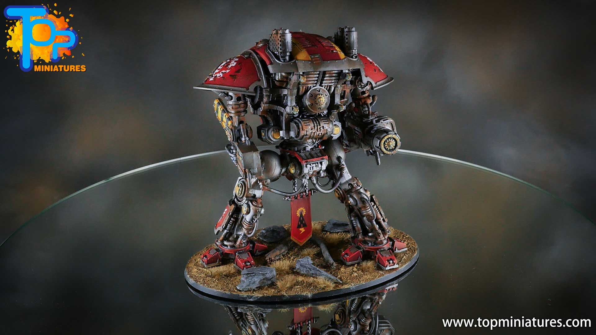 painted imperial knight weathering chipped paint (18)