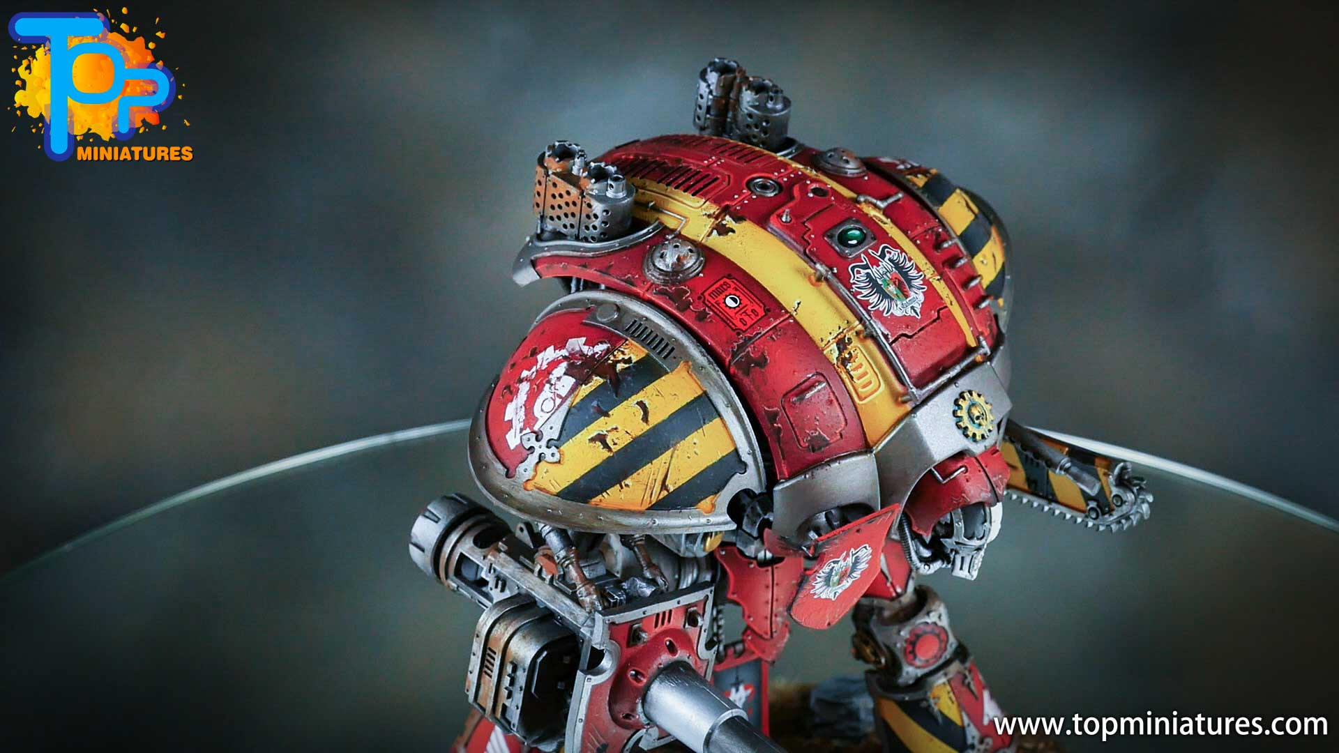 painted imperial knight weathering chipped paint (20)