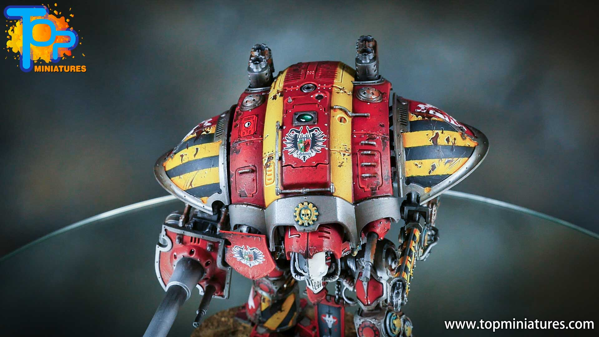 painted imperial knight weathering chipped paint (21)