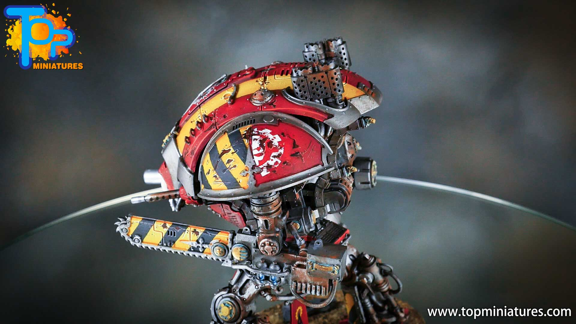 painted imperial knight weathering chipped paint (22)