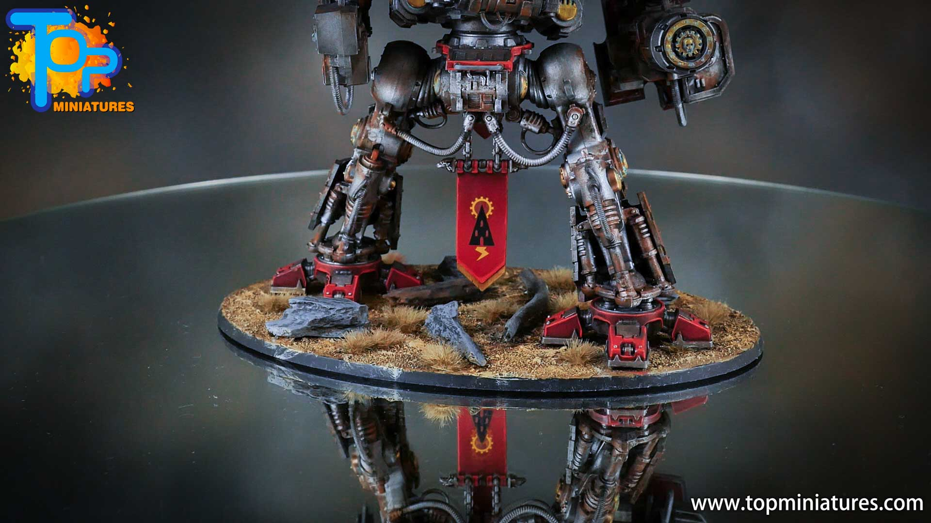 painted imperial knight weathering chipped paint (25)