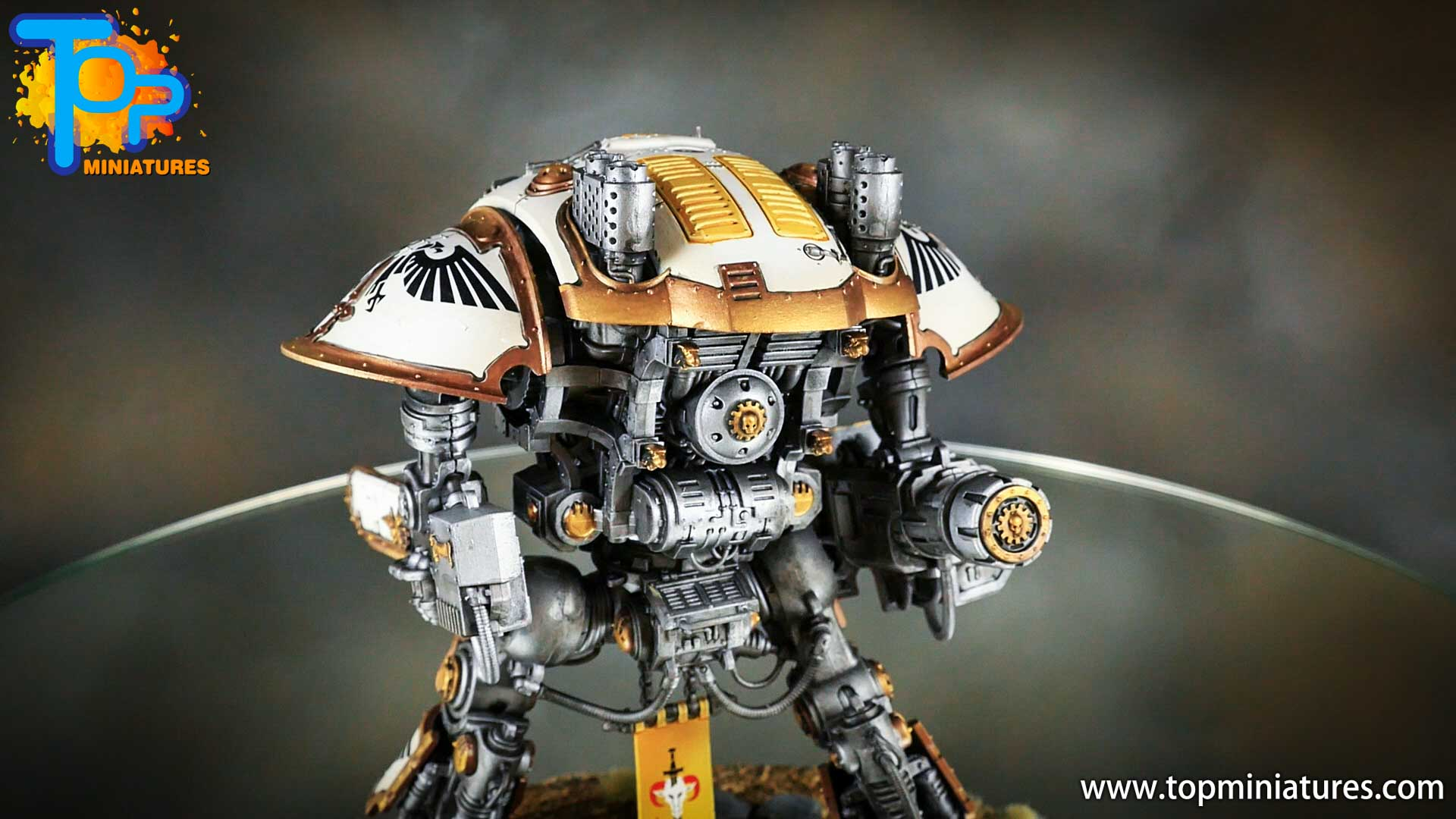 painted imperial knight weathering chipped paint (3)