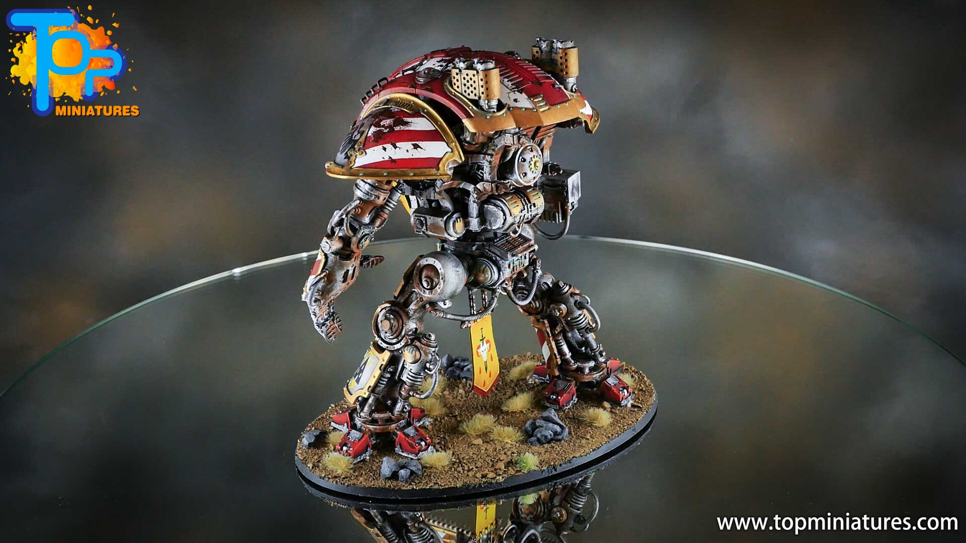 painted imperial knight weathering chipped paint (30)