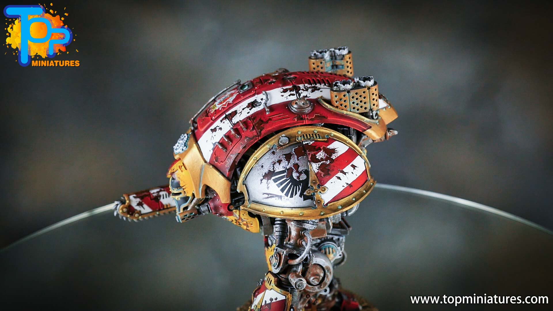 painted imperial knight weathering chipped paint (33)