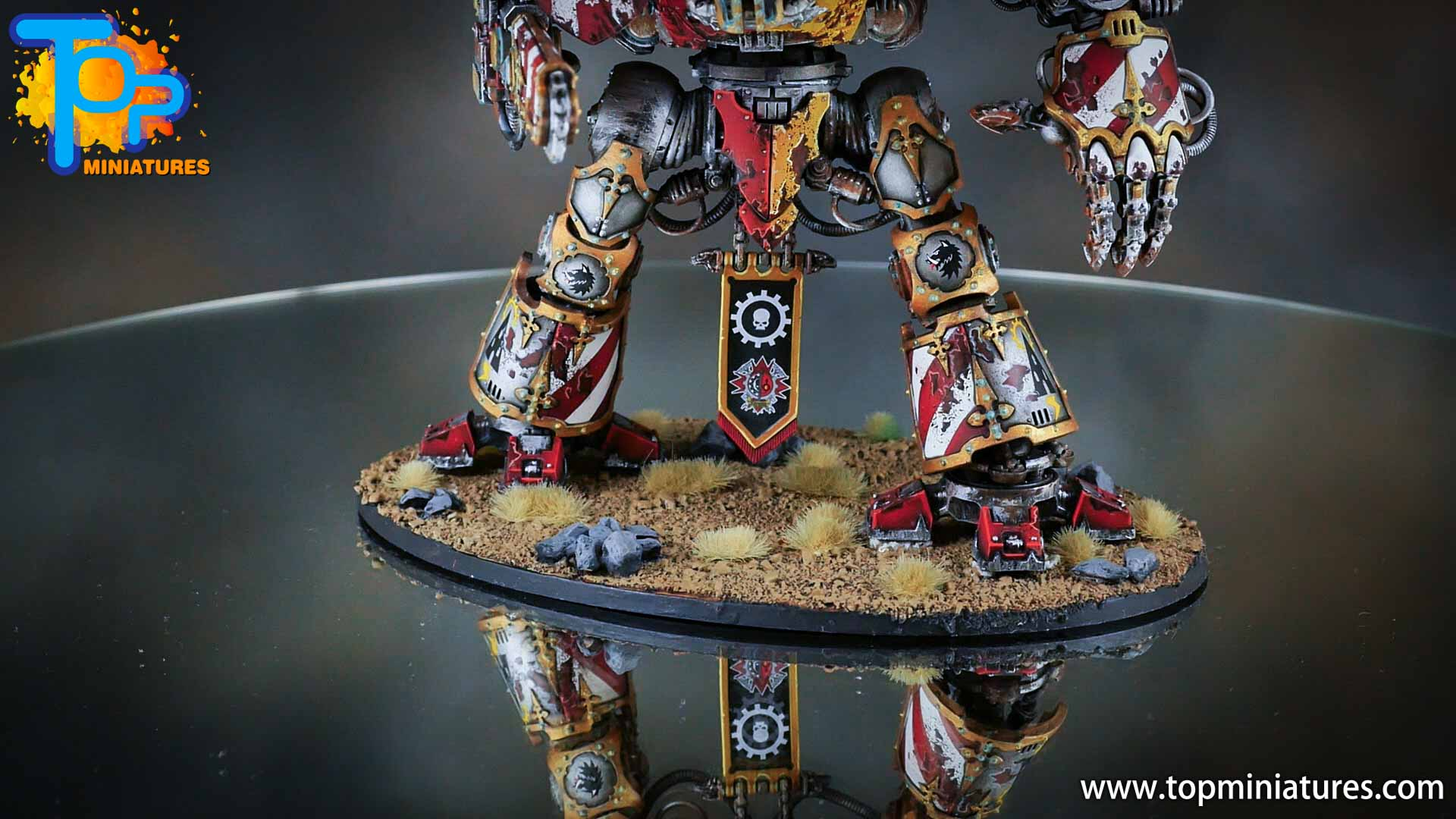 painted imperial knight weathering chipped paint (36)