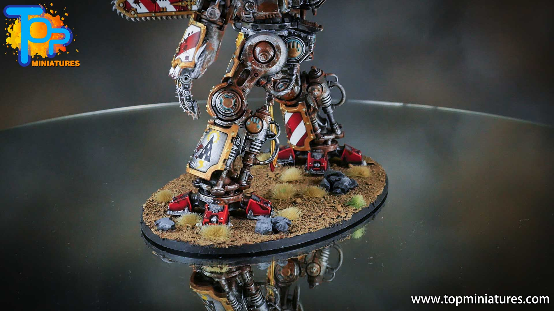 painted imperial knight weathering chipped paint (37)