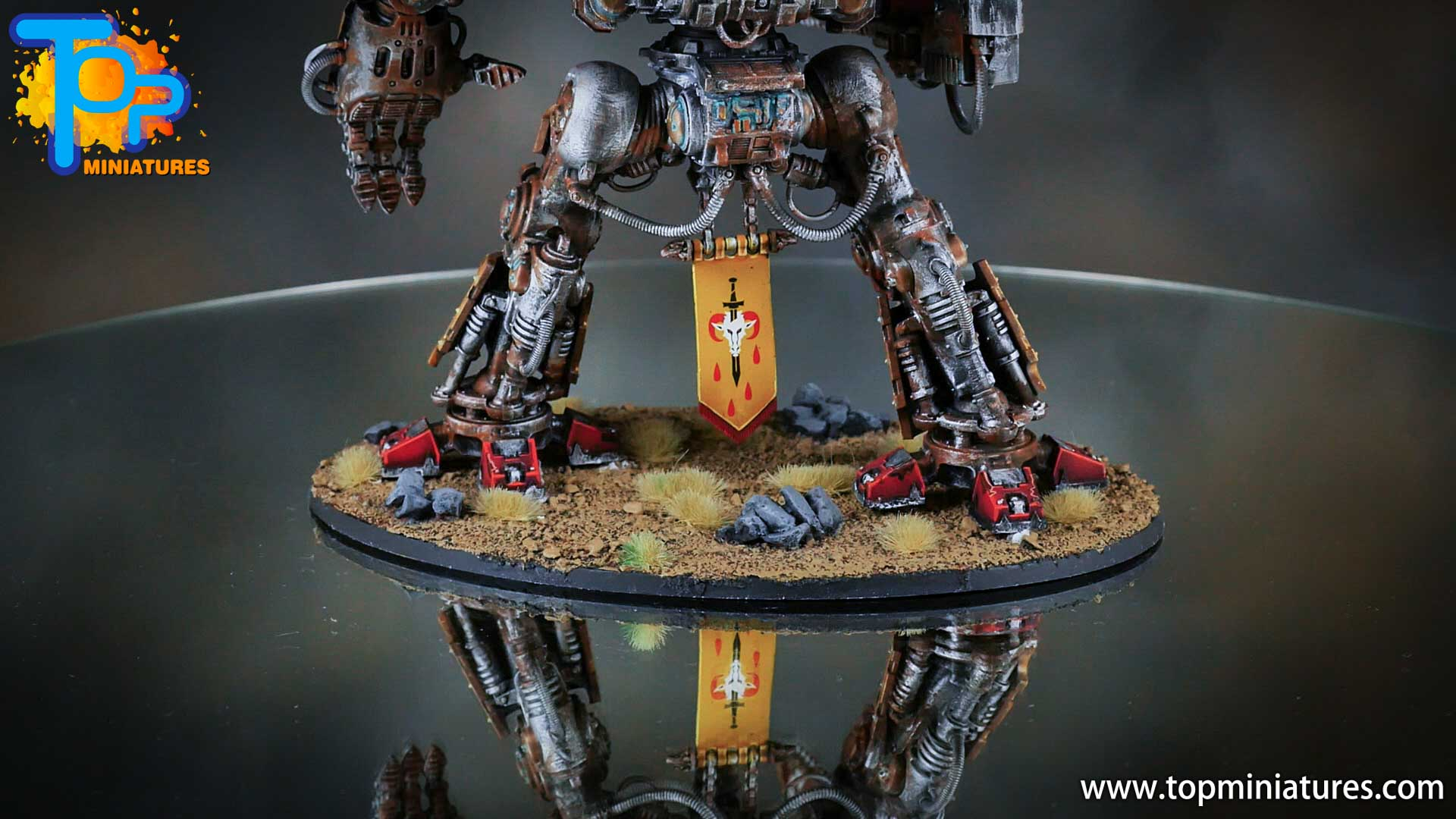 painted imperial knight weathering chipped paint (38)