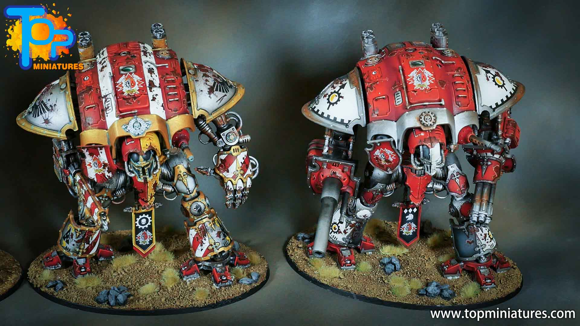 painted imperial knight weathering chipped paint (40)