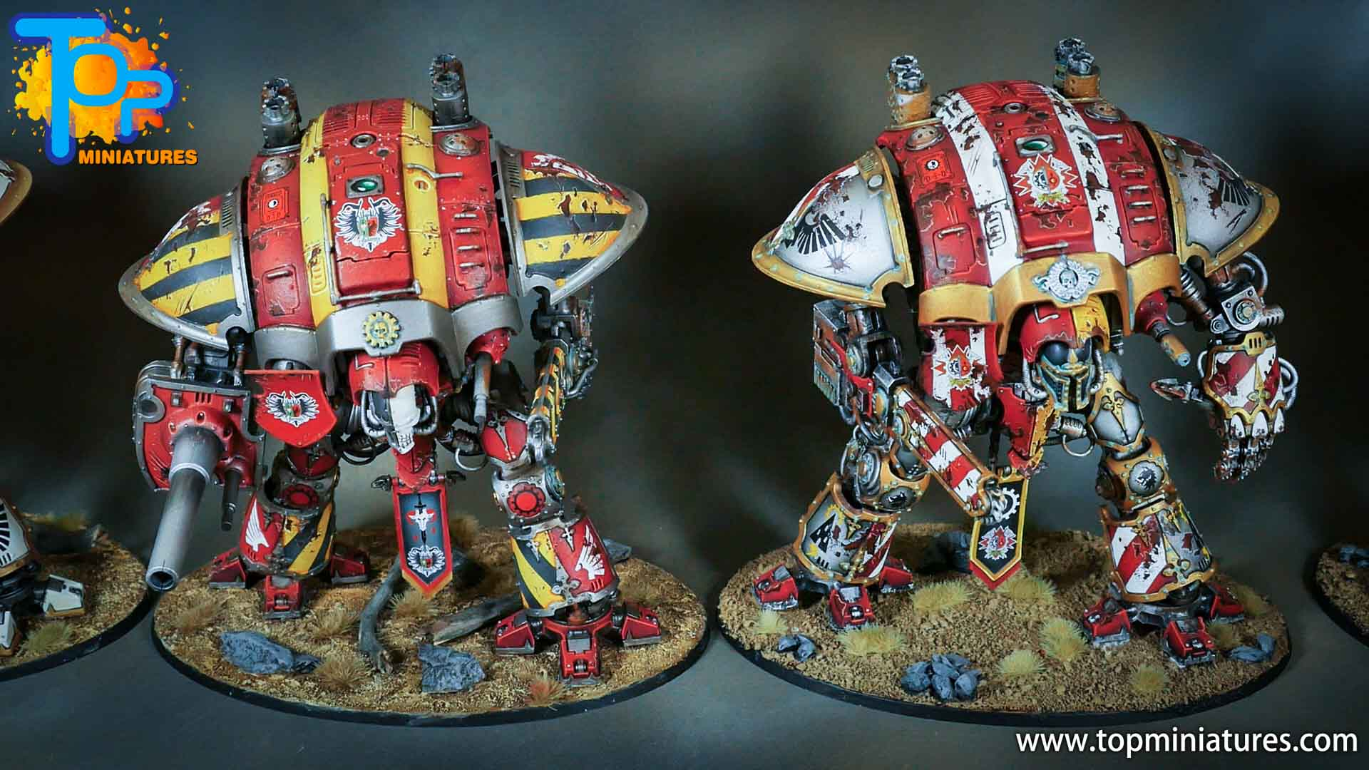 painted imperial knight weathering chipped paint (41)