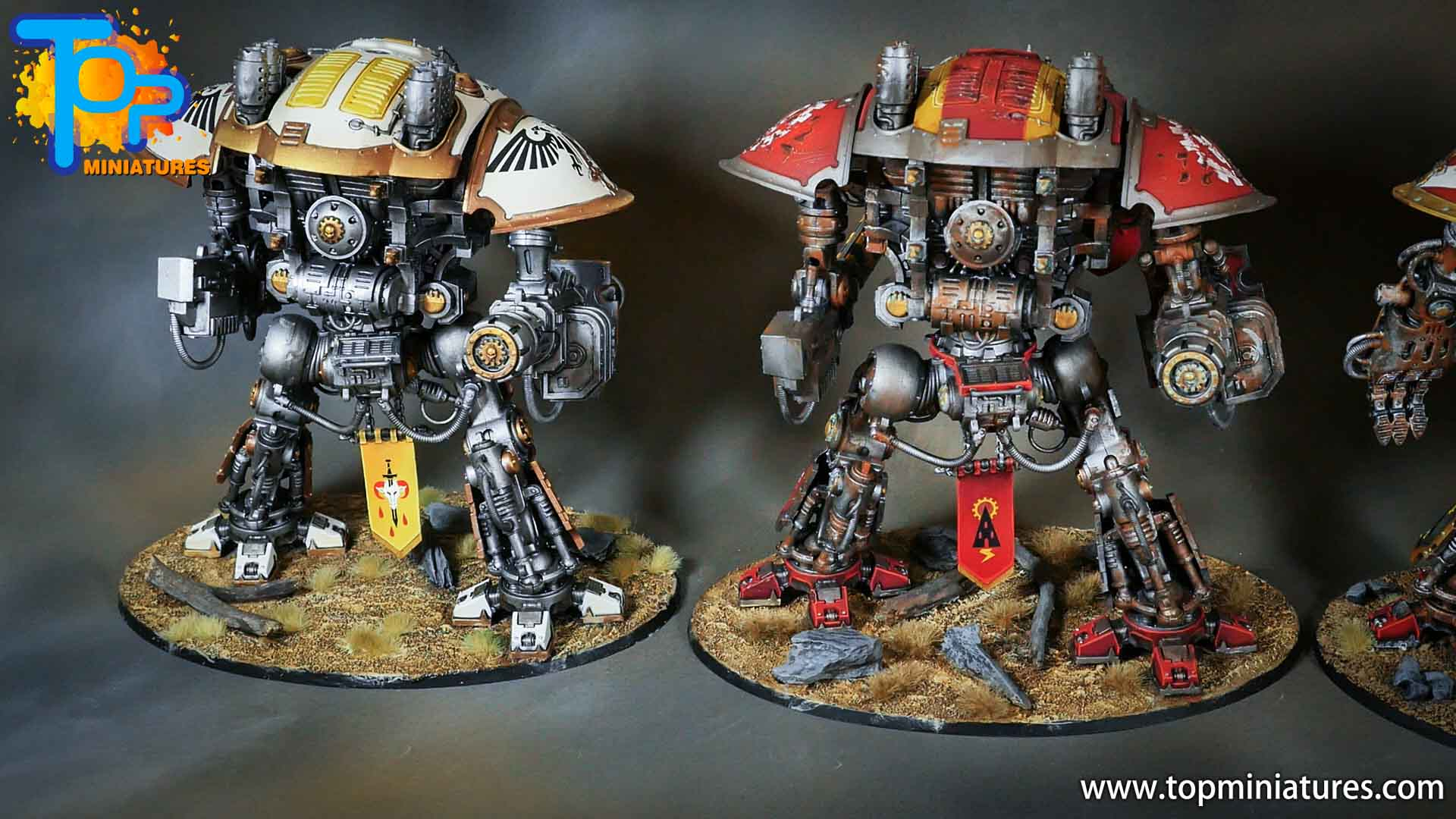 painted imperial knight weathering chipped paint (42)