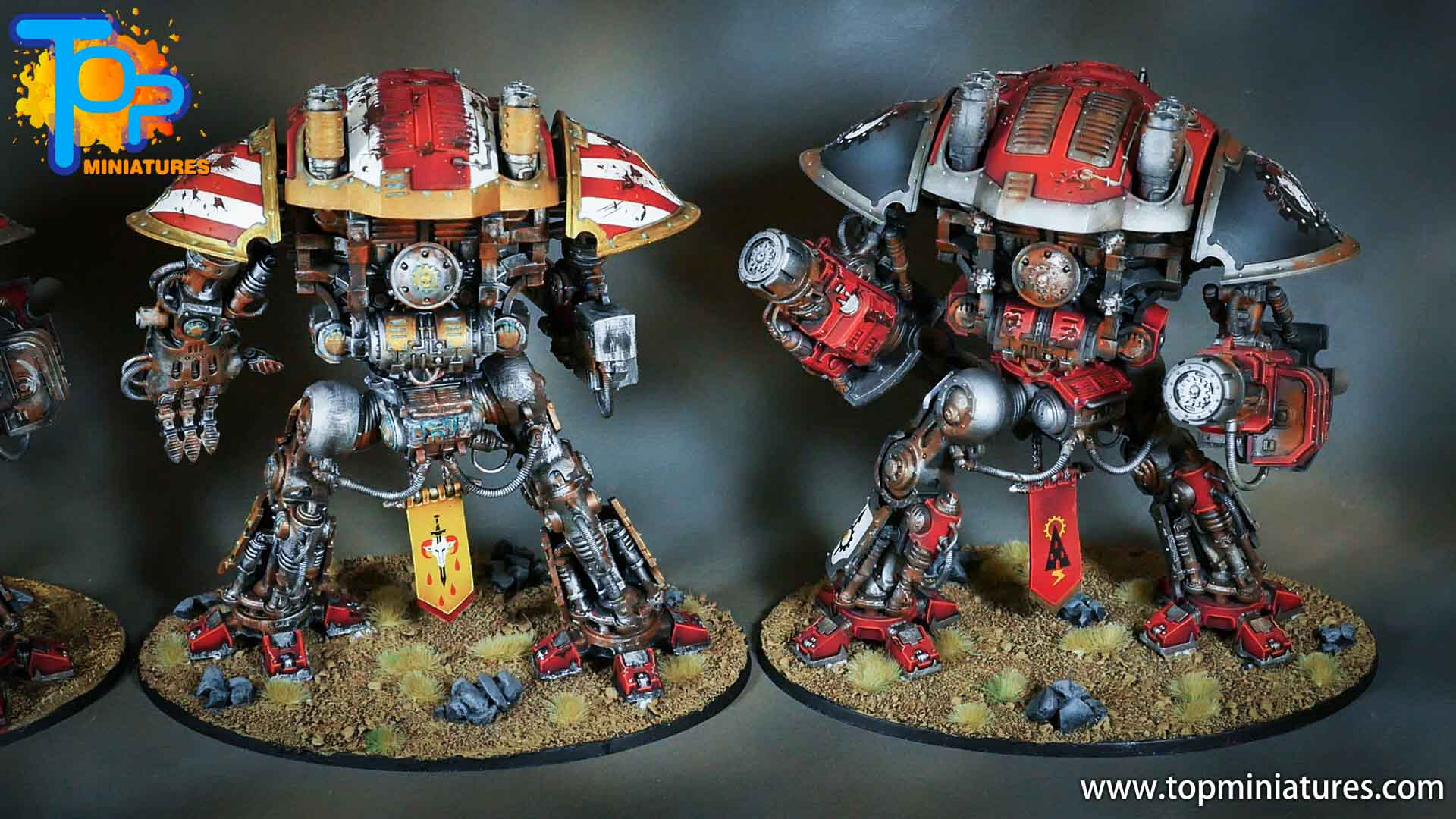 painted imperial knight weathering chipped paint (43)