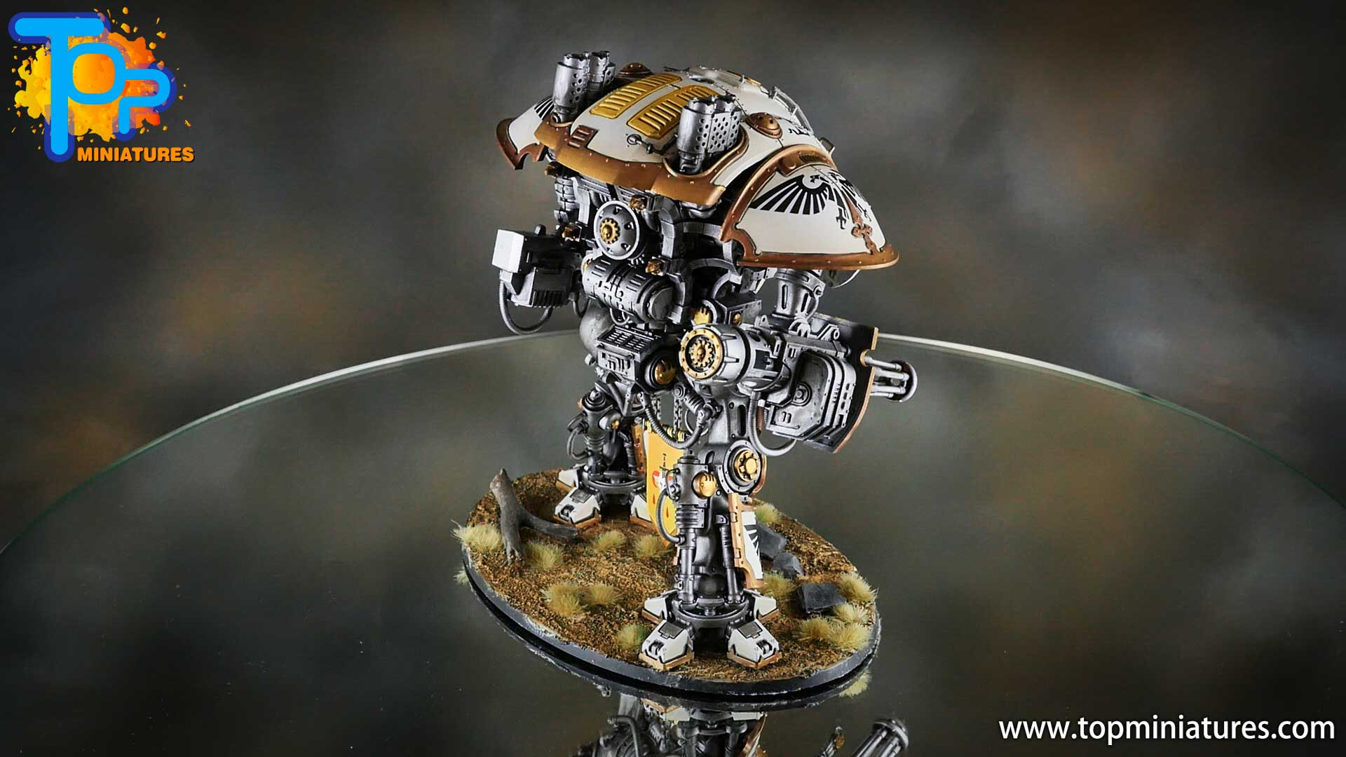 painted imperial knight weathering chipped paint (44)