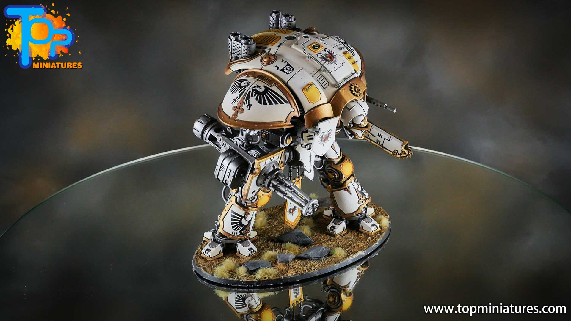 painted imperial knight weathering chipped paint (45)