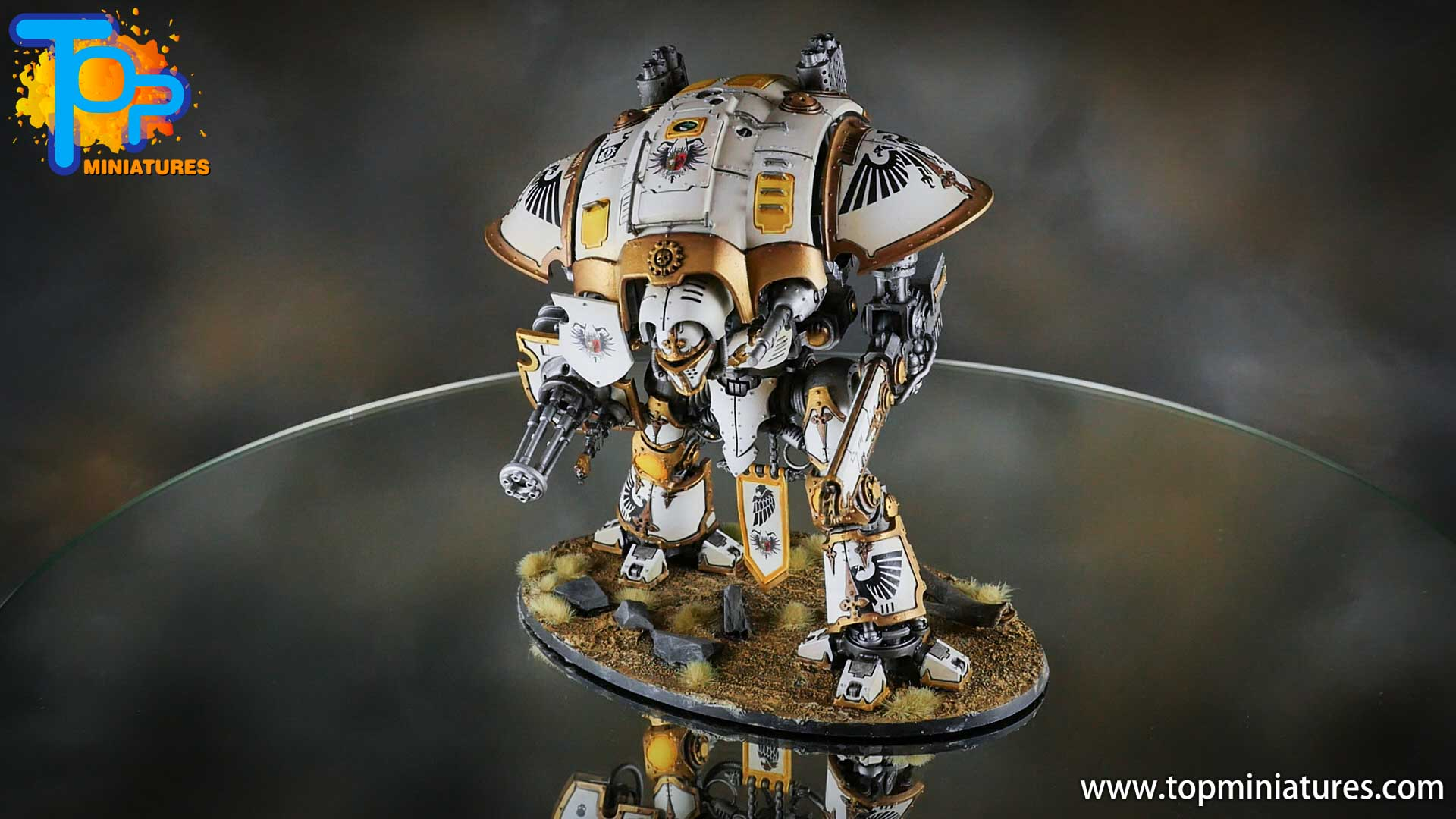 painted imperial knight weathering chipped paint (46)