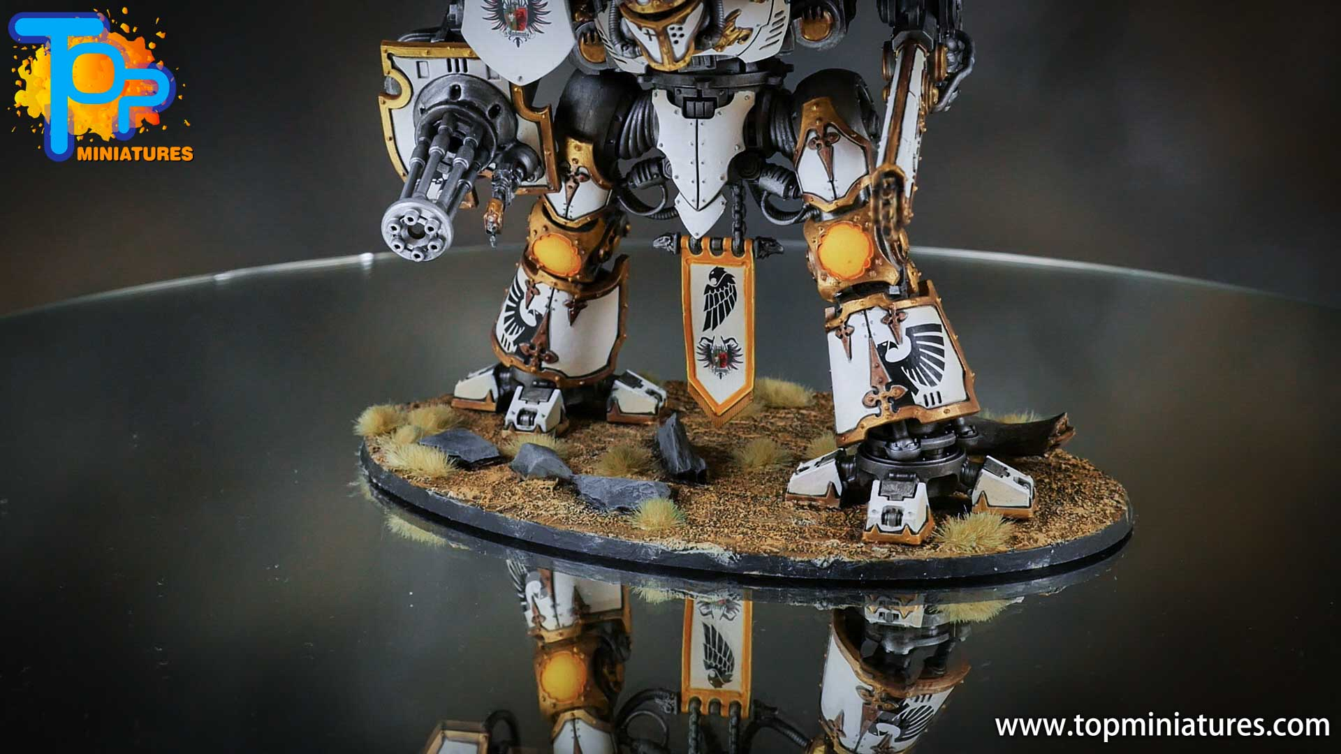 painted imperial knight weathering chipped paint (5)