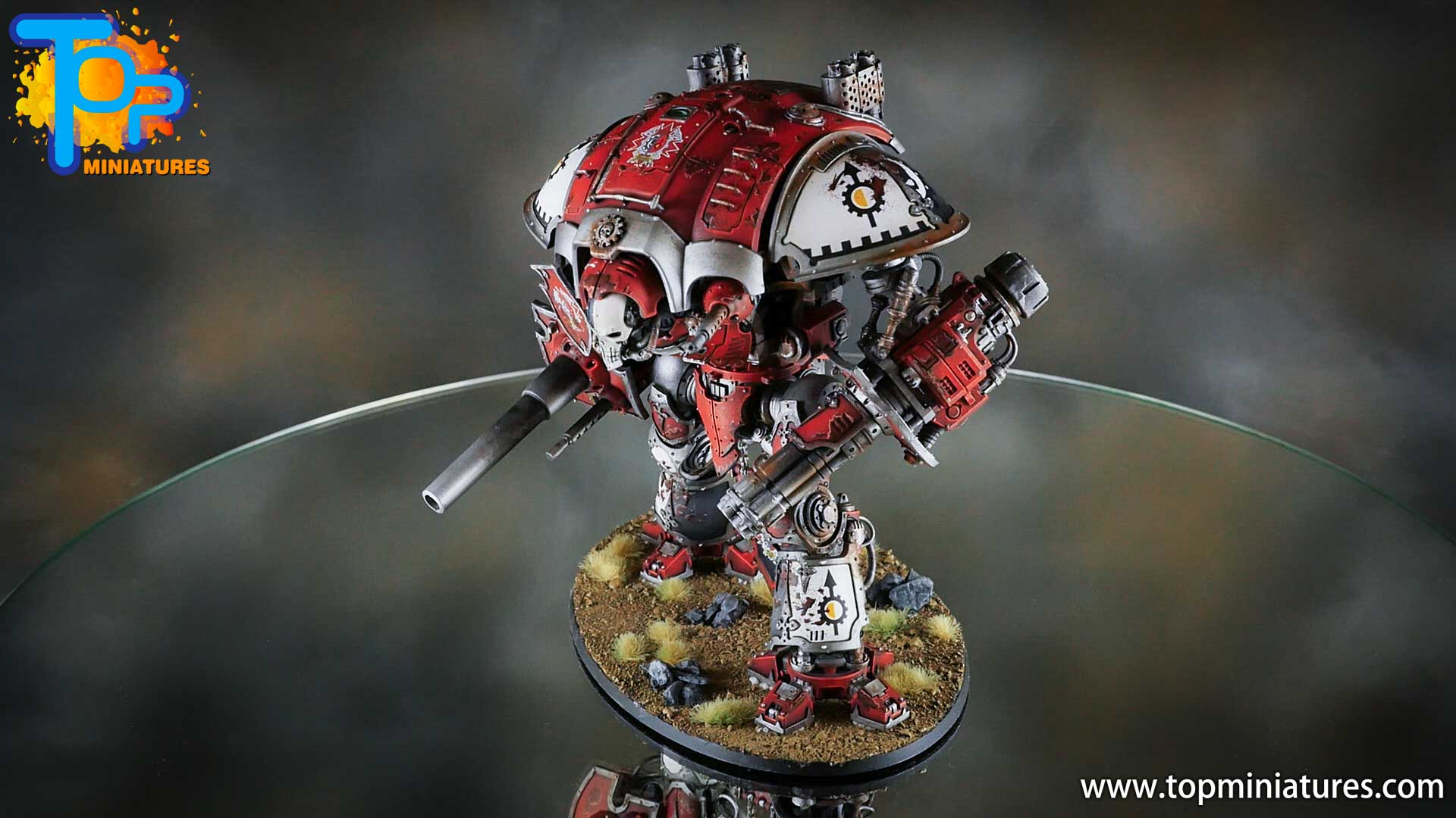 painted imperial knight weathering chipped paint (7)