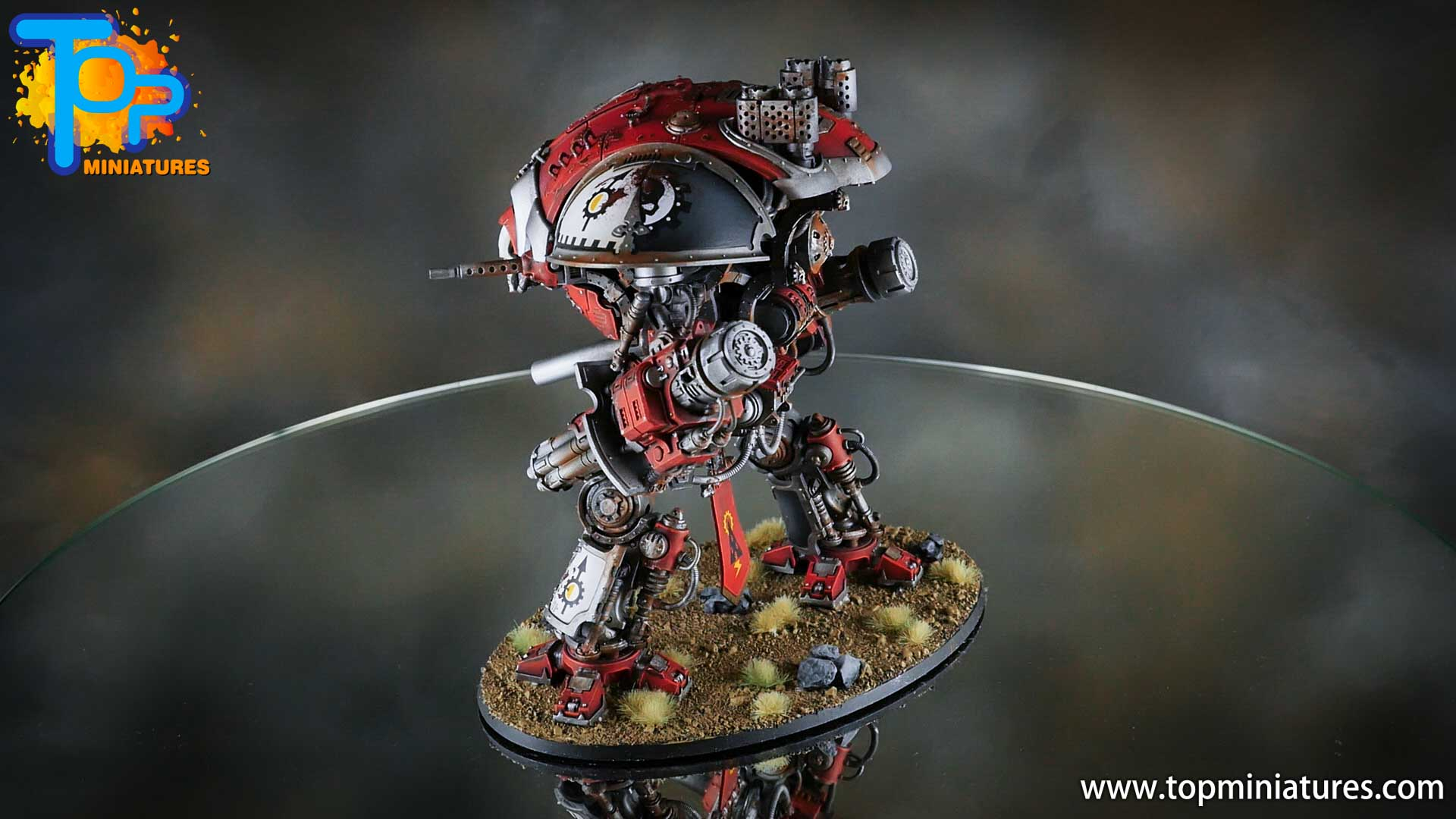 painted imperial knight weathering chipped paint (8)