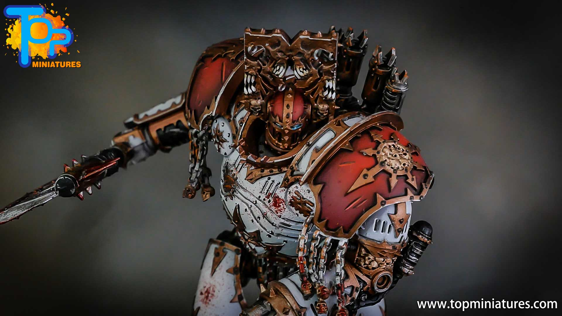 painted kytan daemon engine of khorne (3)