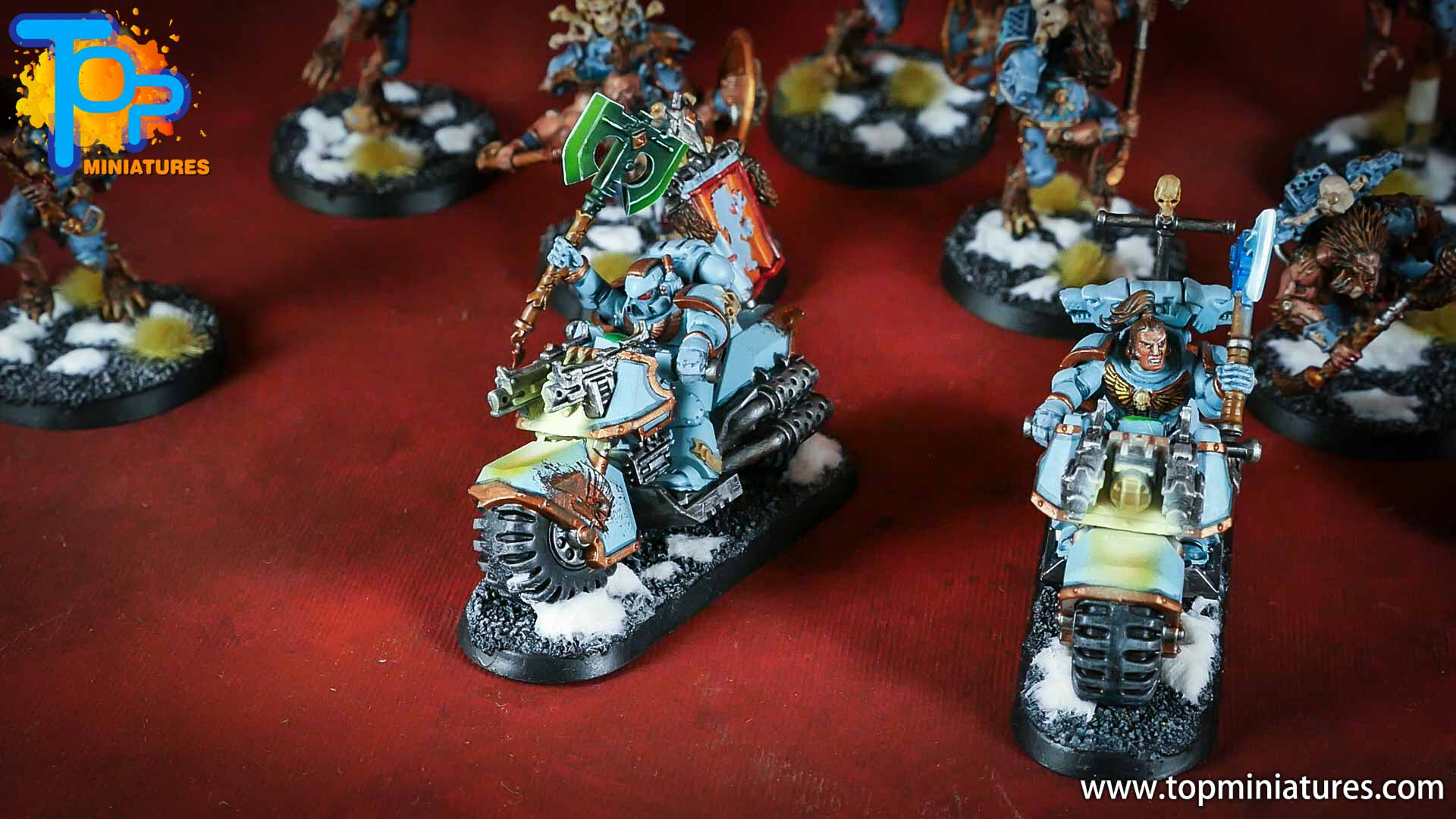 painted space wolves bikes (7)