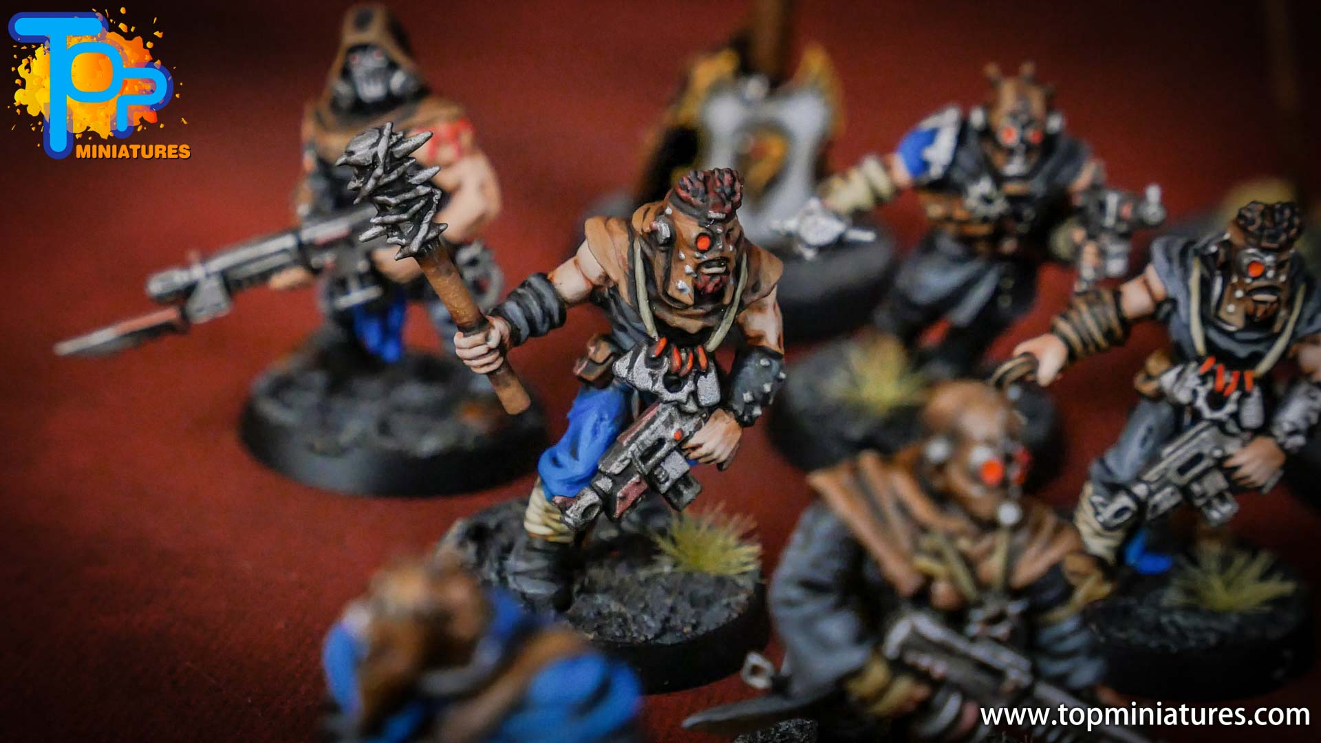 painted tzeentch chaos cultists (4)