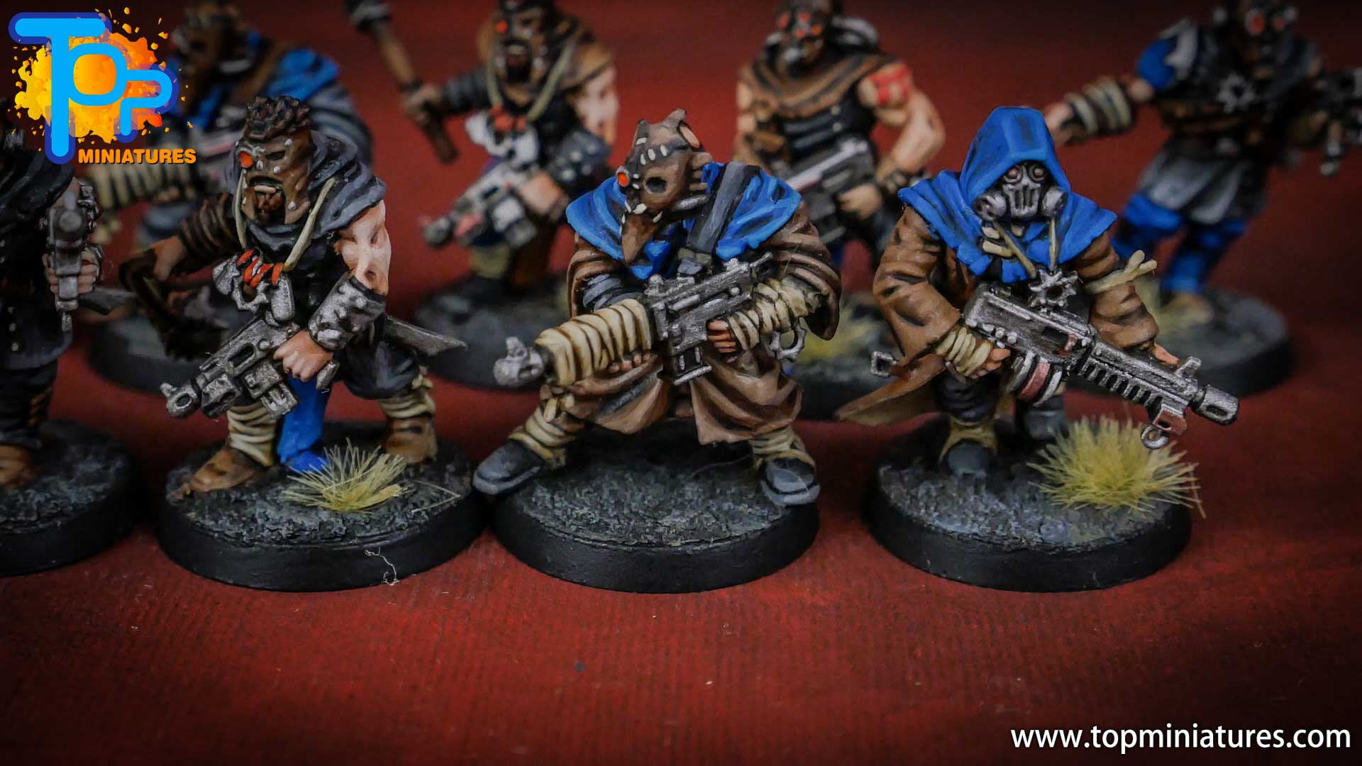 painted tzeentch chaos cultists (7)