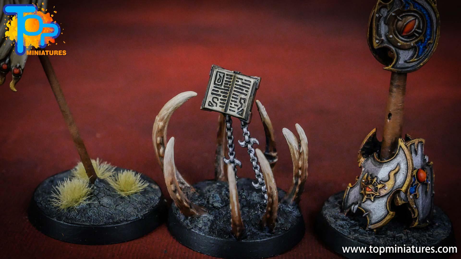 painted tzeentch chaos objectives (2)