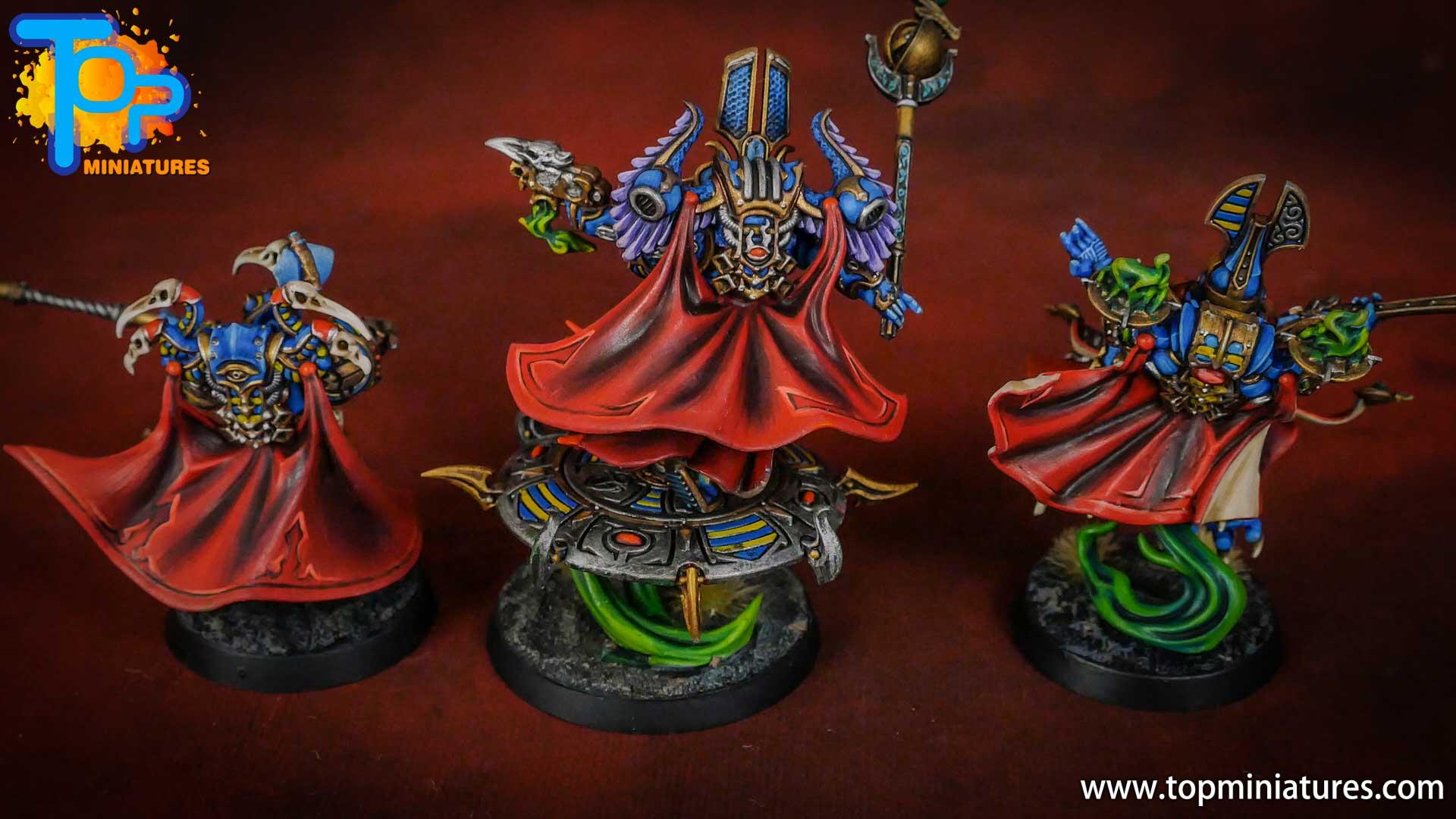 painted tzeentch exalted sorcerers (1)