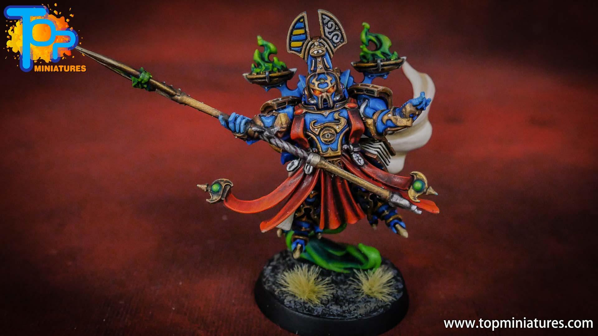 painted tzeentch exalted sorcerers (3)