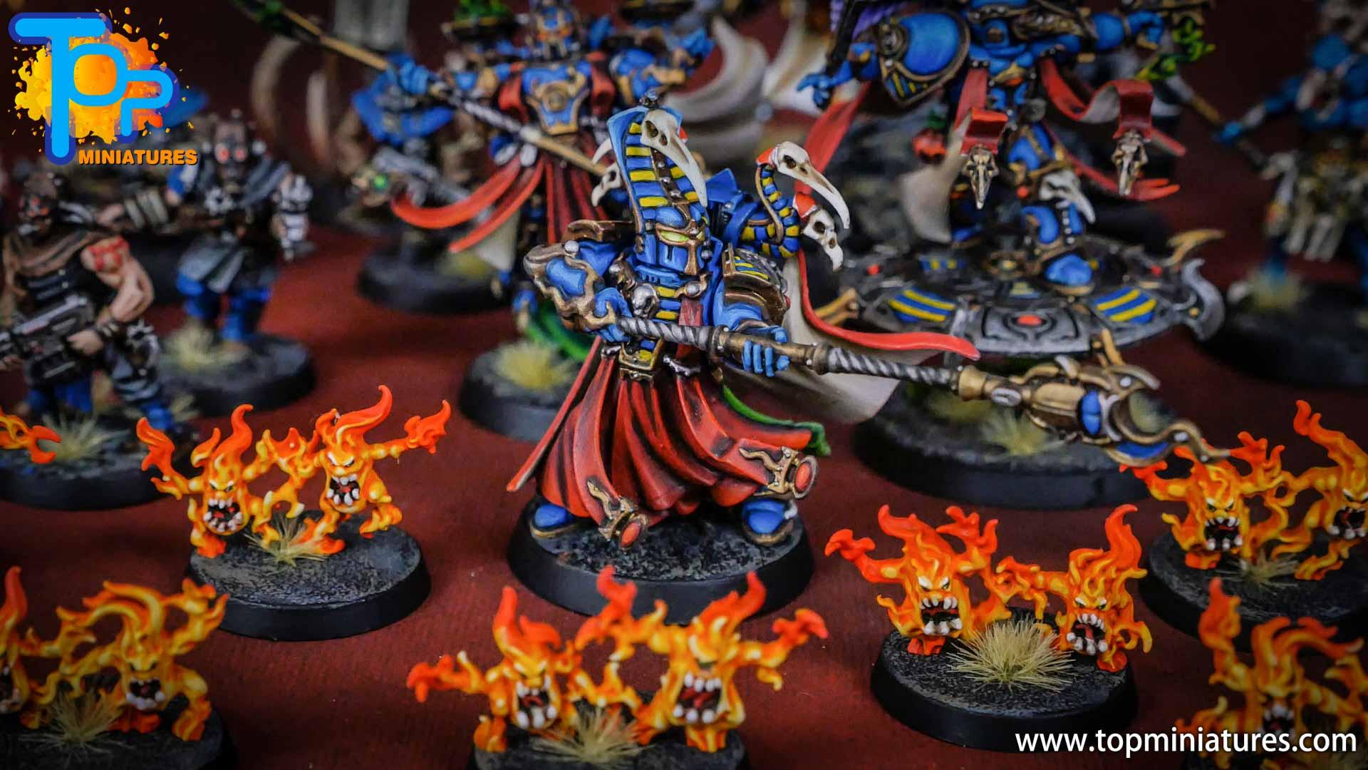 painted tzeentch exalted sorcerers (5)