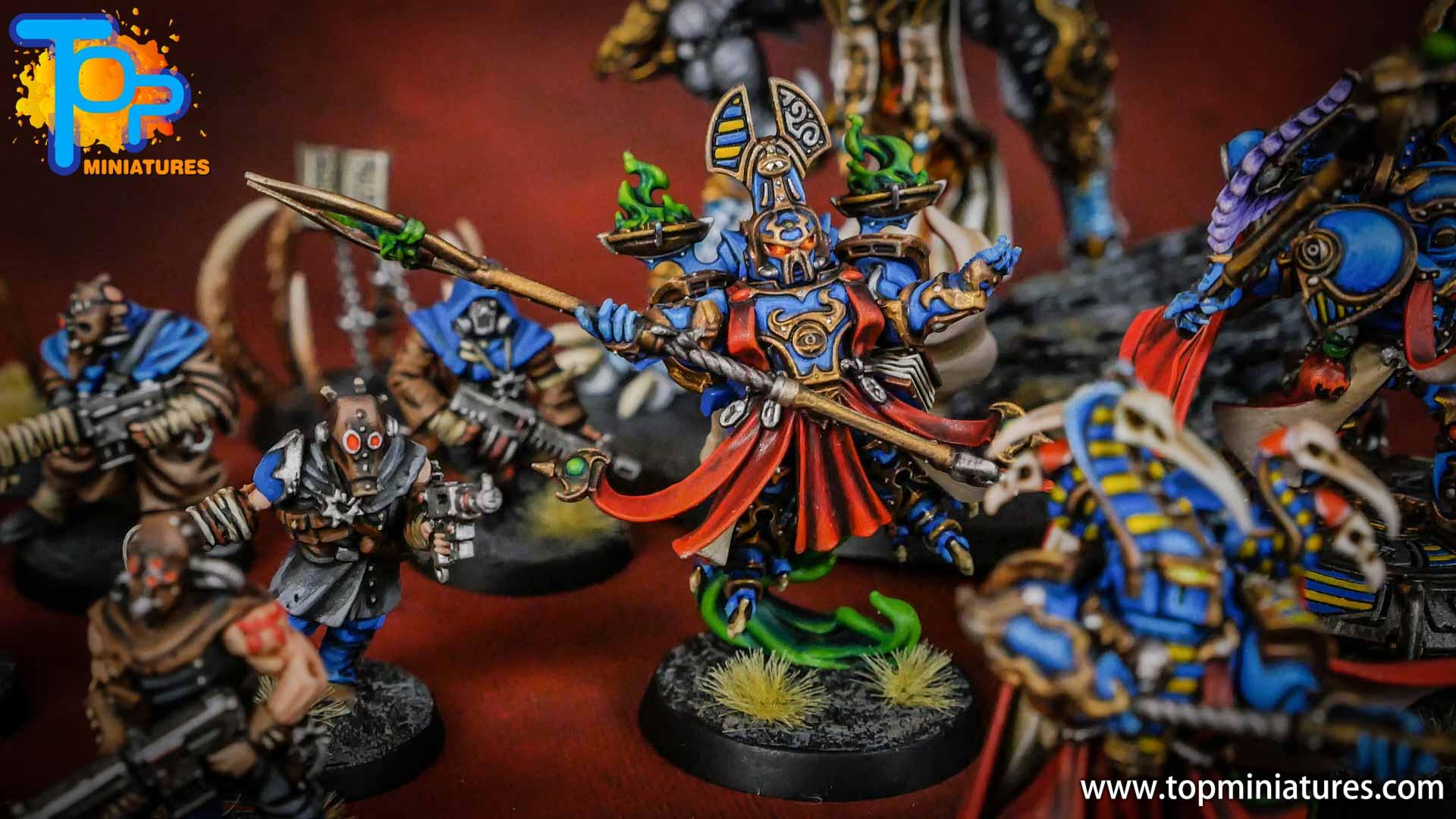 painted tzeentch exalted sorcerers (6)