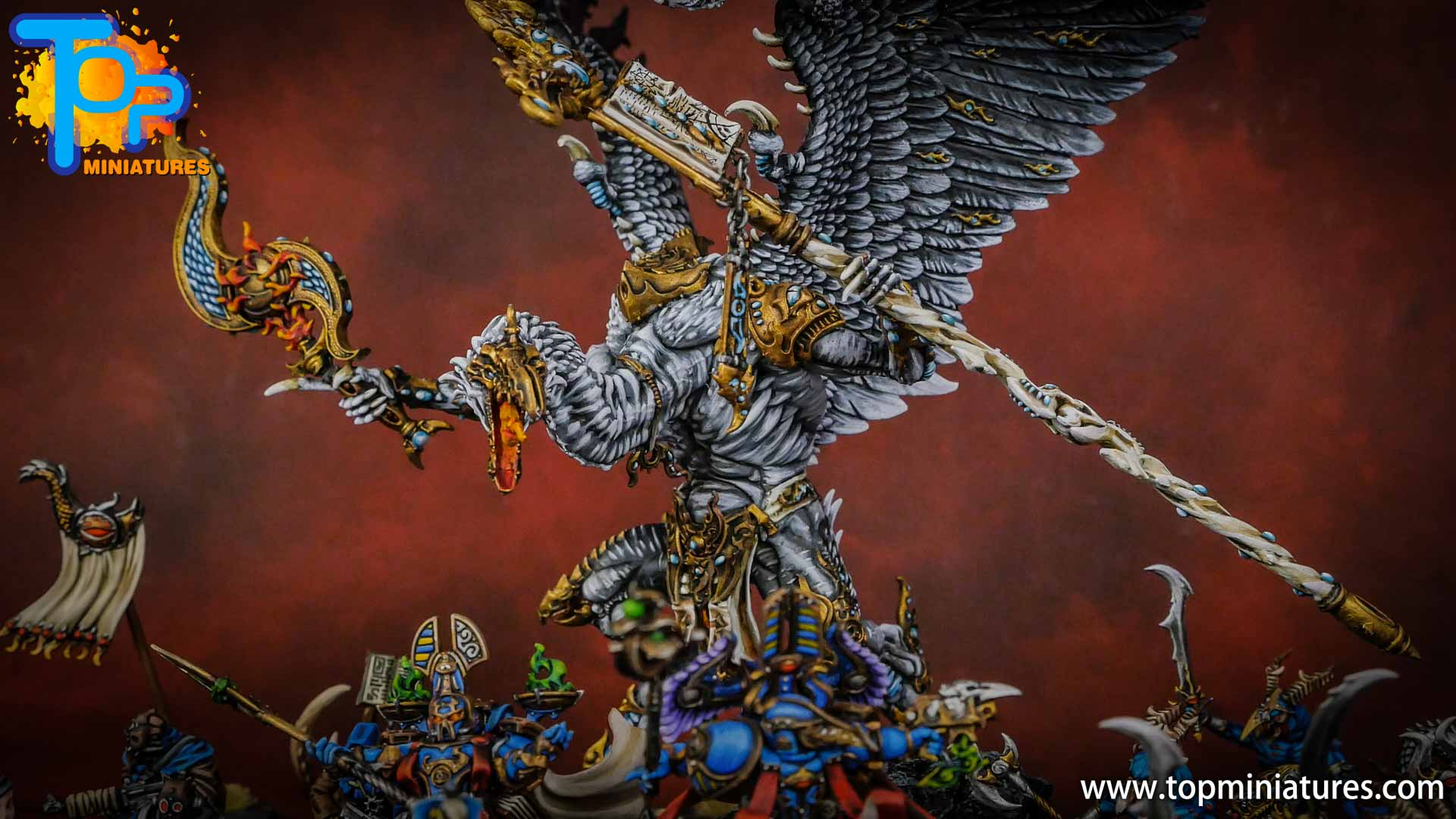 painted tzeentch lord of change (1)