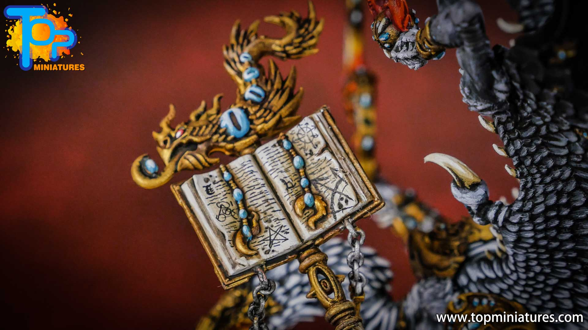 painted tzeentch lord of change (13)