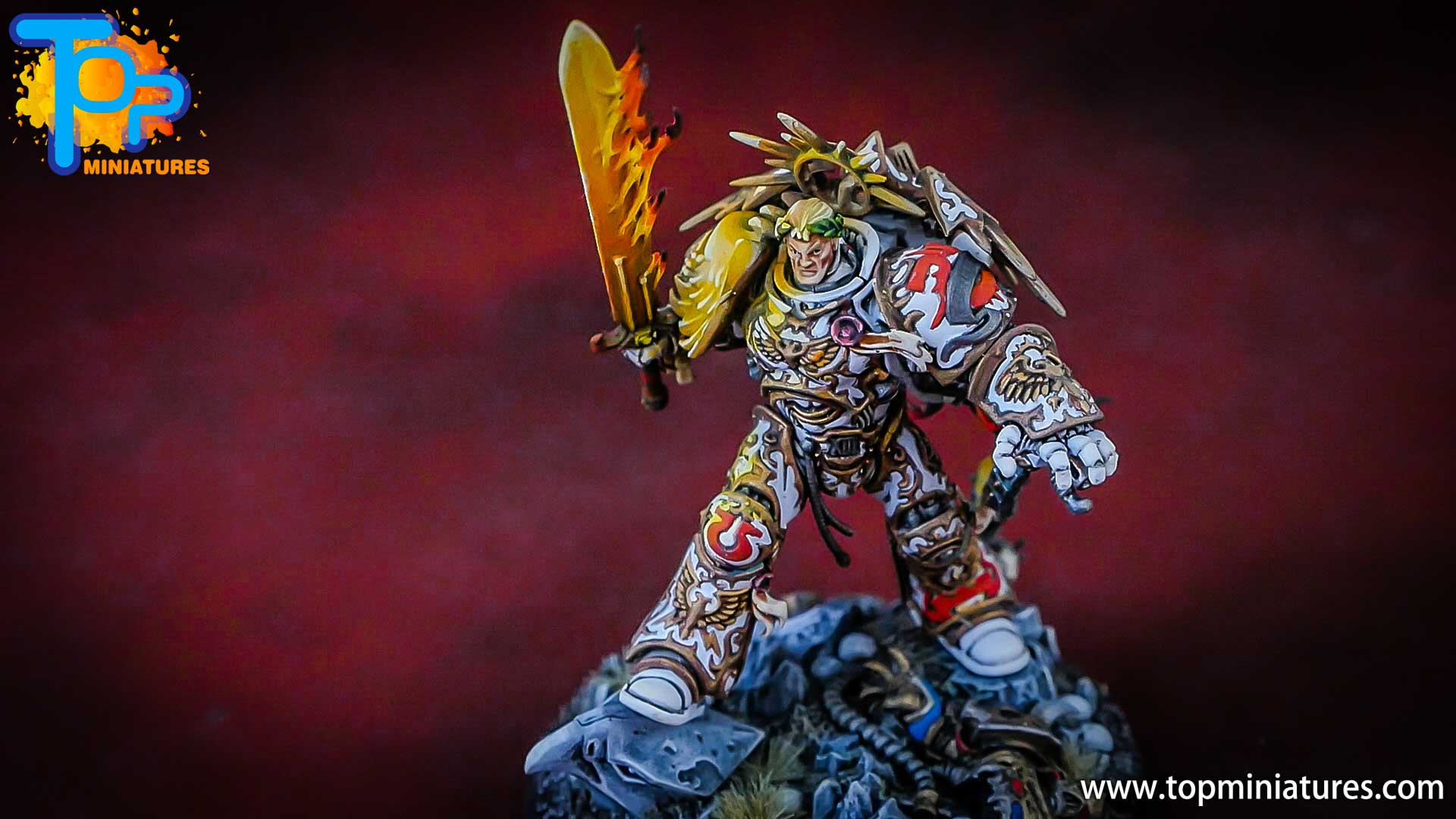 painted white roboute guilliman (5)