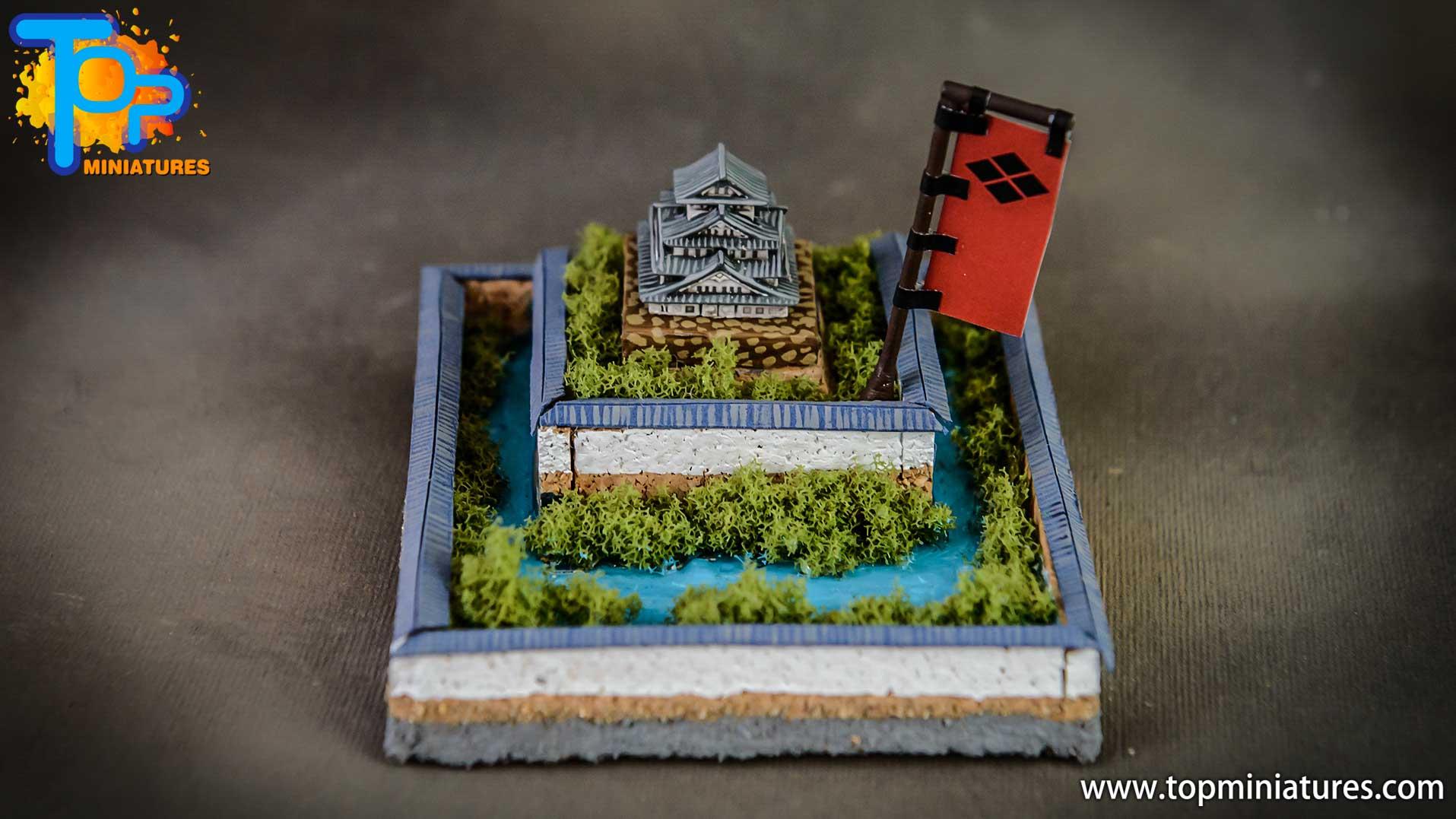sekigahara boardgame 3d painted castles (5)
