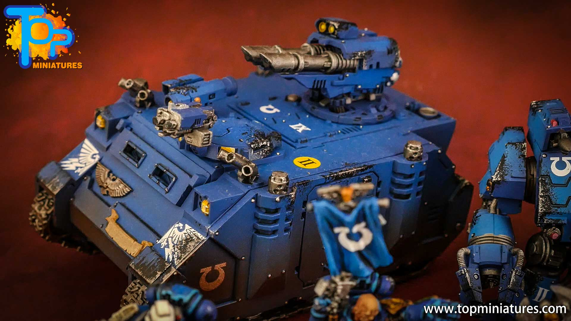 space marines ultramarines painted army (8)