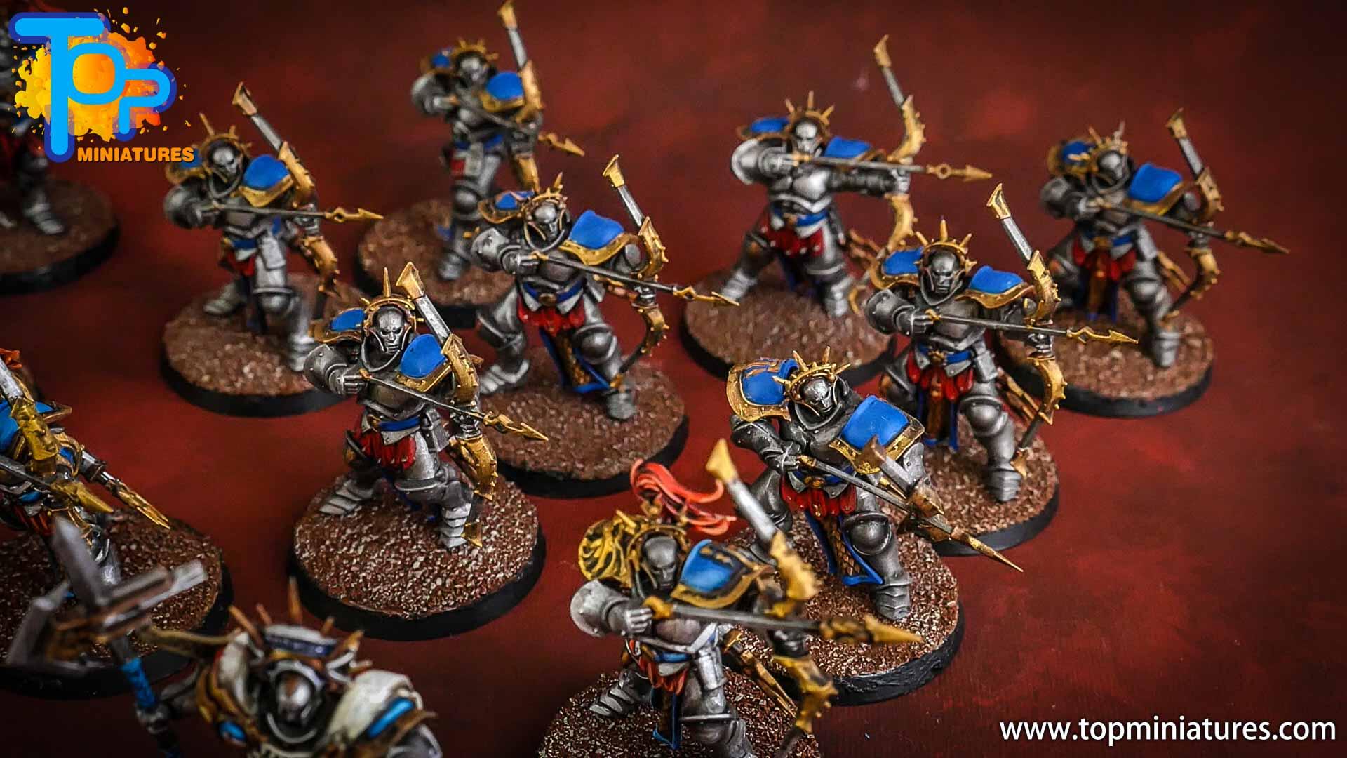 stormcast eternals painted judicators bow (3)